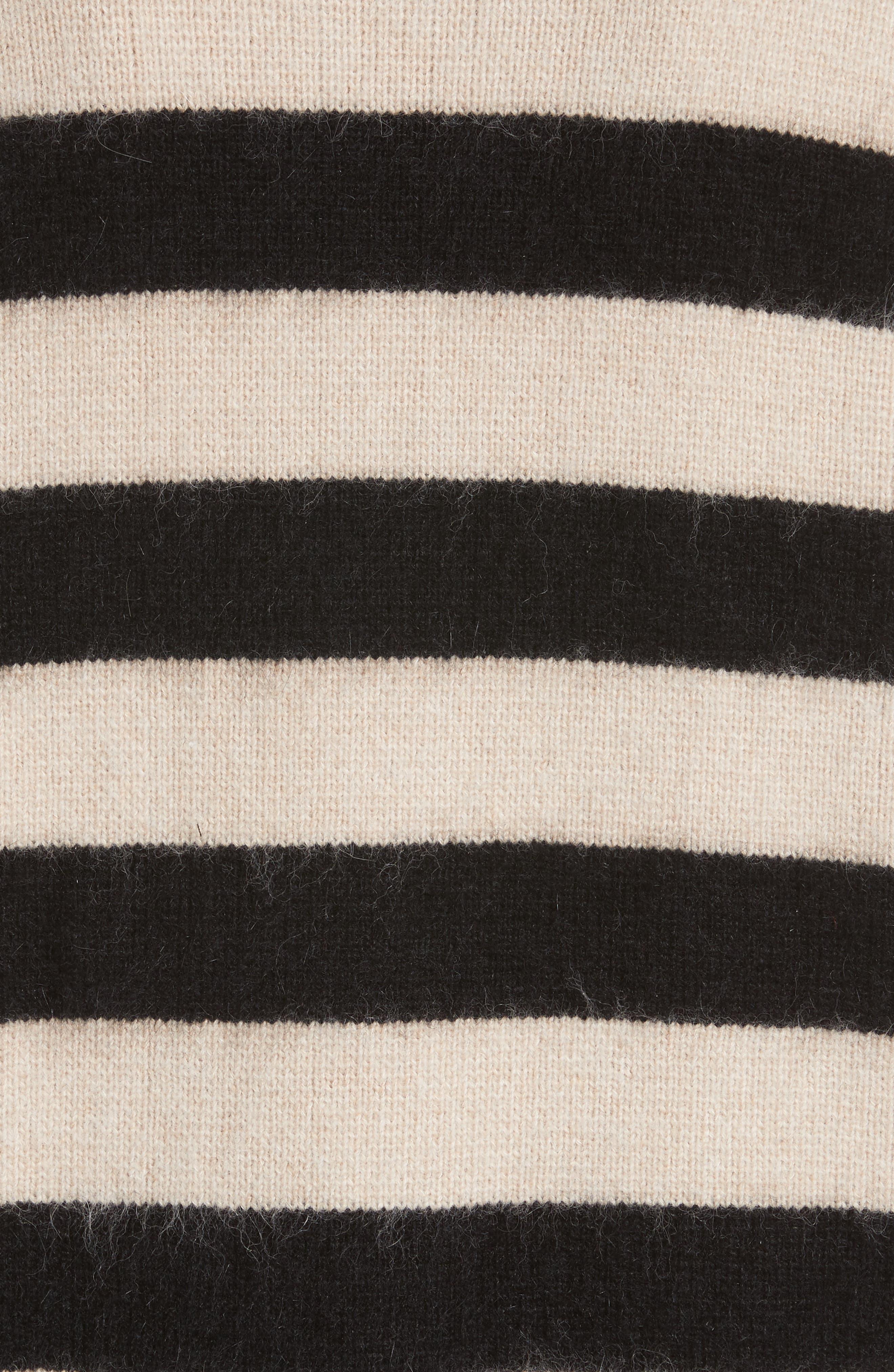 Alternate Image 5  - Diane von Furstenberg Stripe Oversize Cardigan
