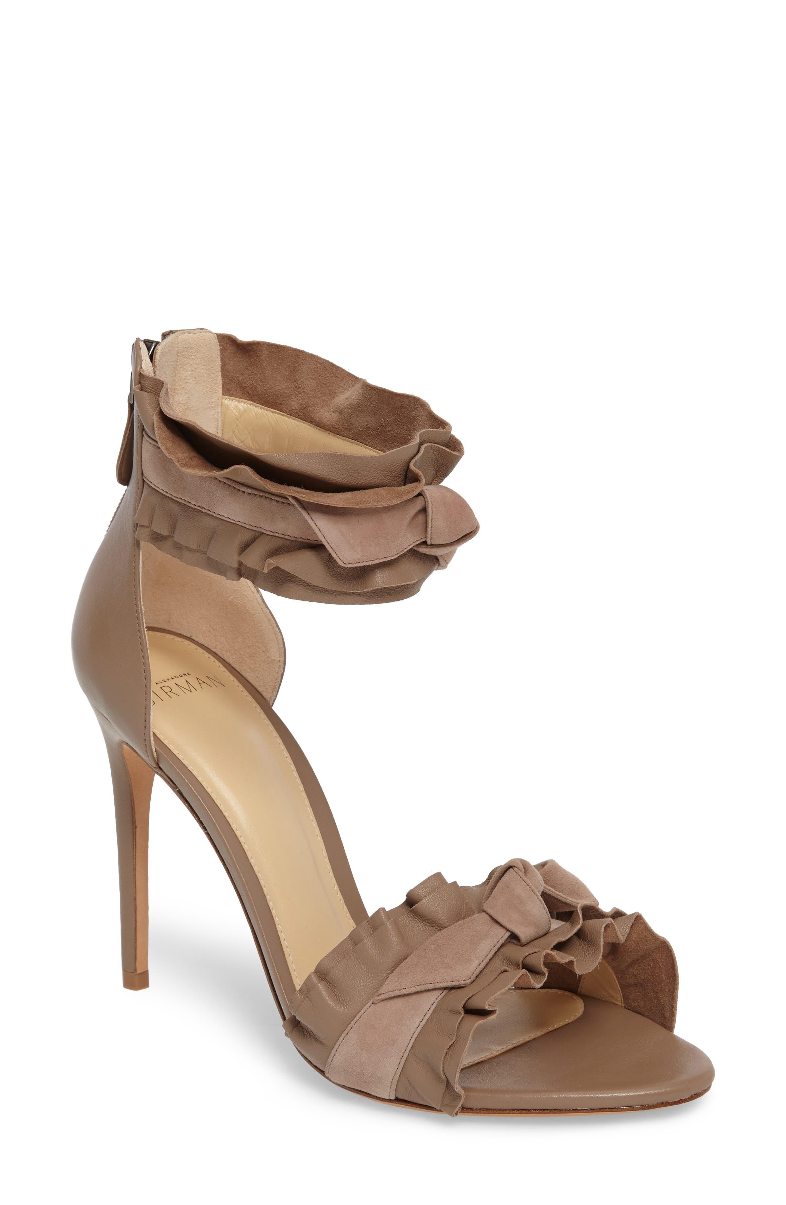 Alexandre Birman Aletta Ruffle Sandal (Women)