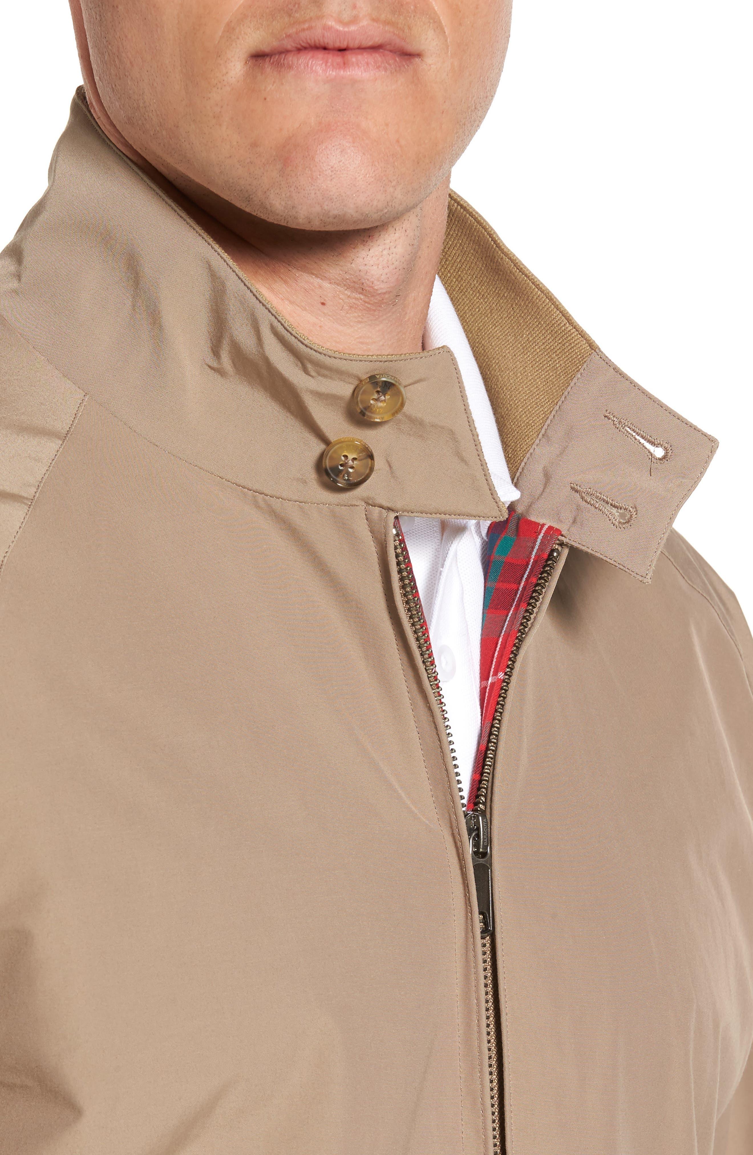 Alternate Image 4  - Baracuta G9 Water Resistant Harrington Jacket