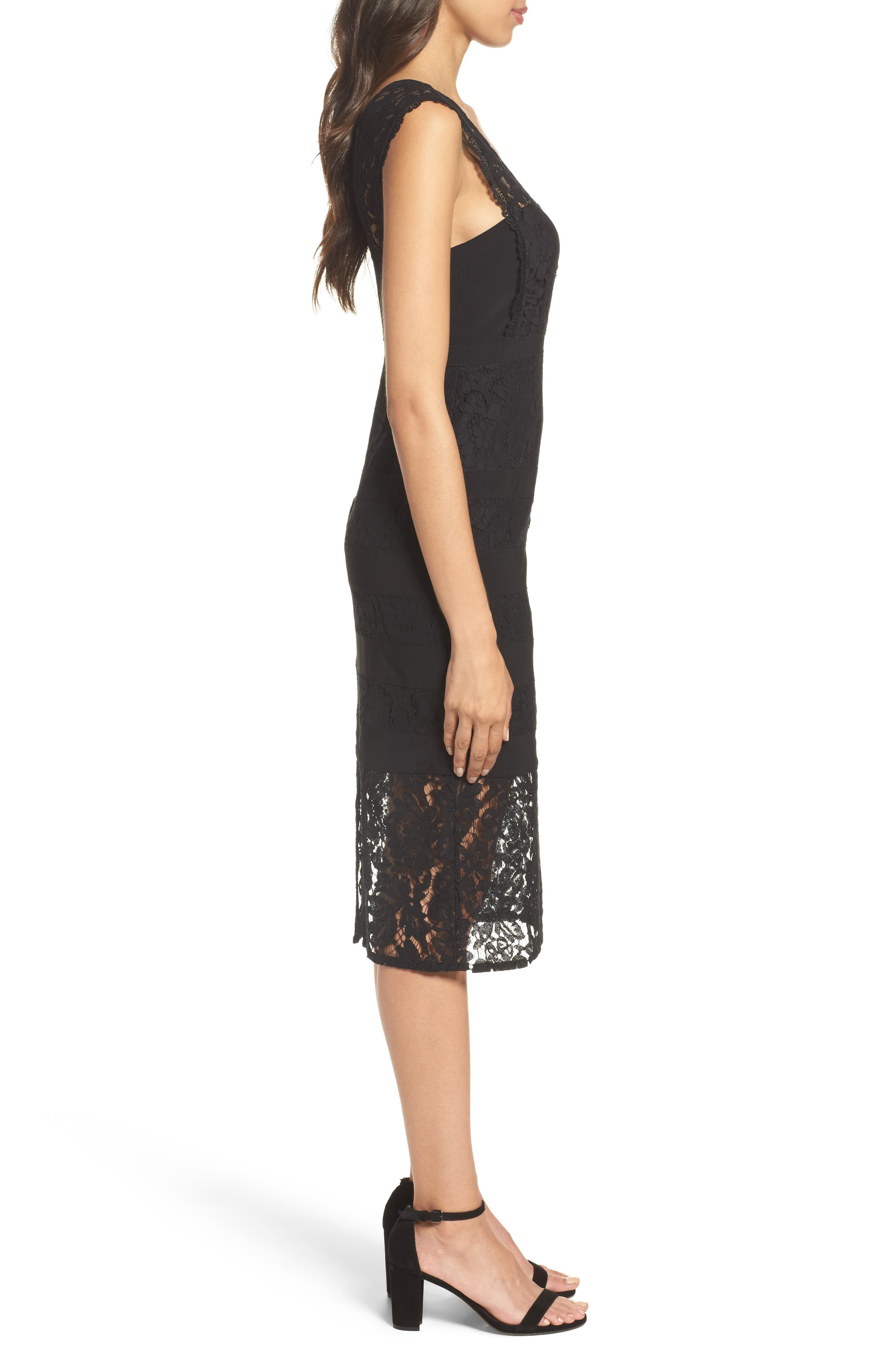 Alternate Image 3  - Adrianna Papell Cynthia Lace Sheath Dress