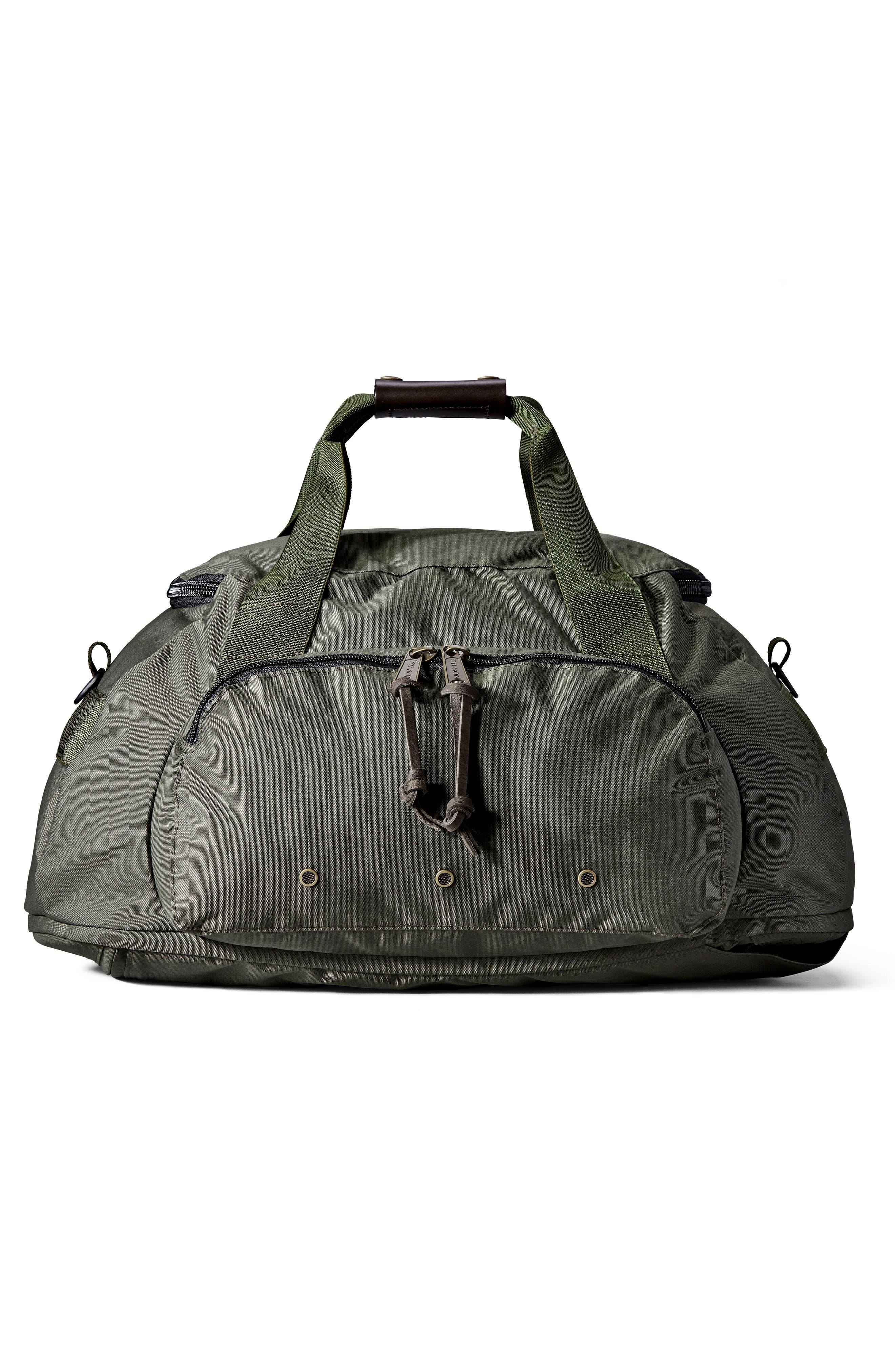 Convertible Duffel Bag,                             Alternate thumbnail 5, color,                             Otter Green