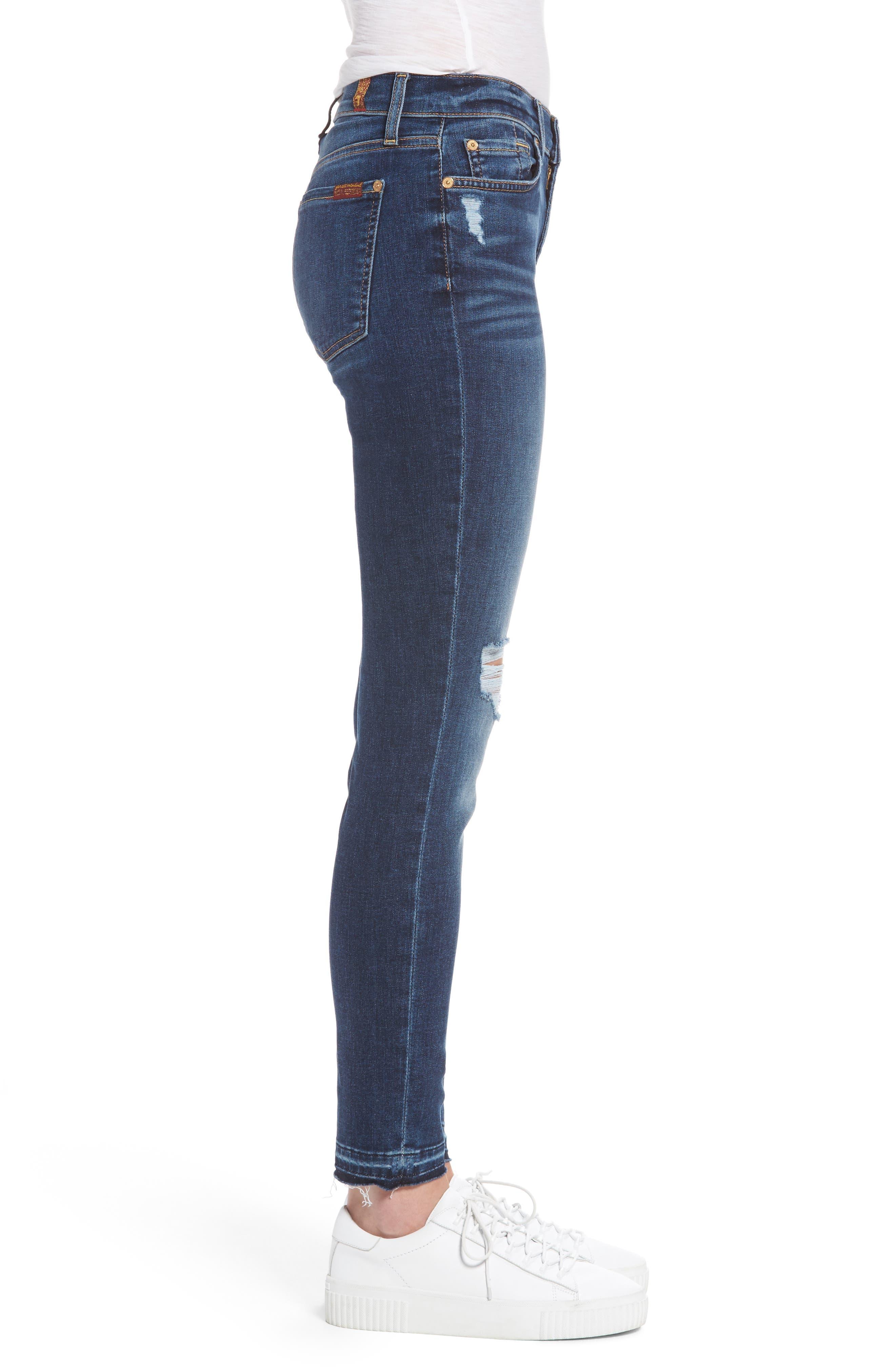 Alternate Image 3  - 7 For All Mankind® Ankle Skinny Jeans (Stunning Bleeker)