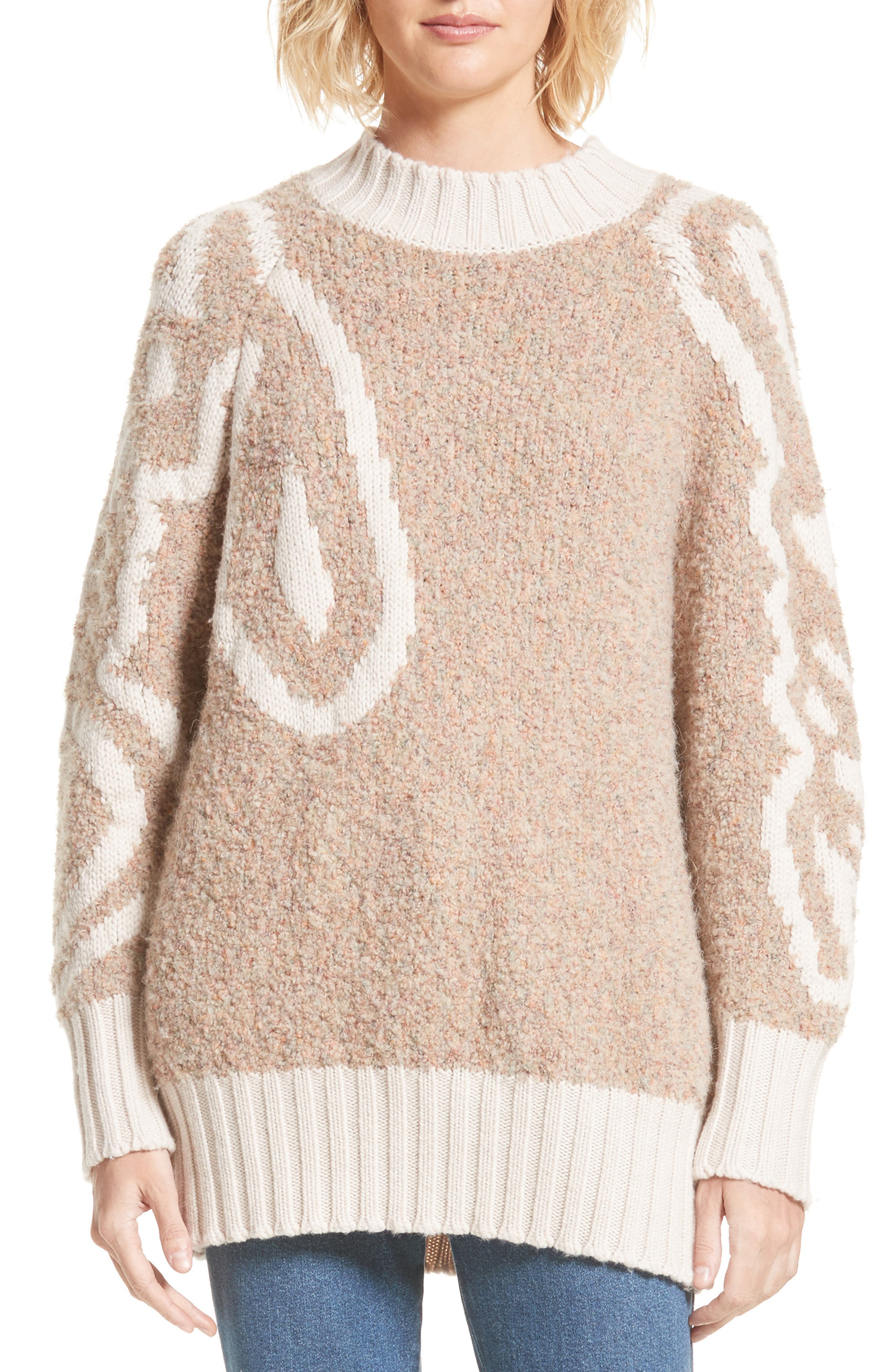 See by Chloé Knit Logo Sweater