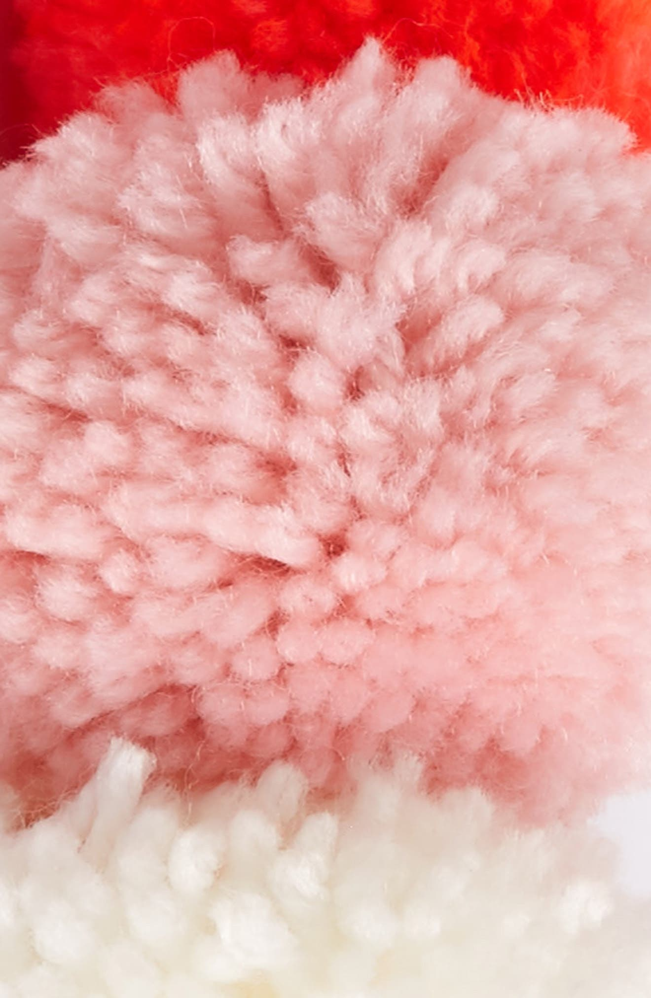 Yarn Pompom Crown,                             Alternate thumbnail 2, color,                             Pink