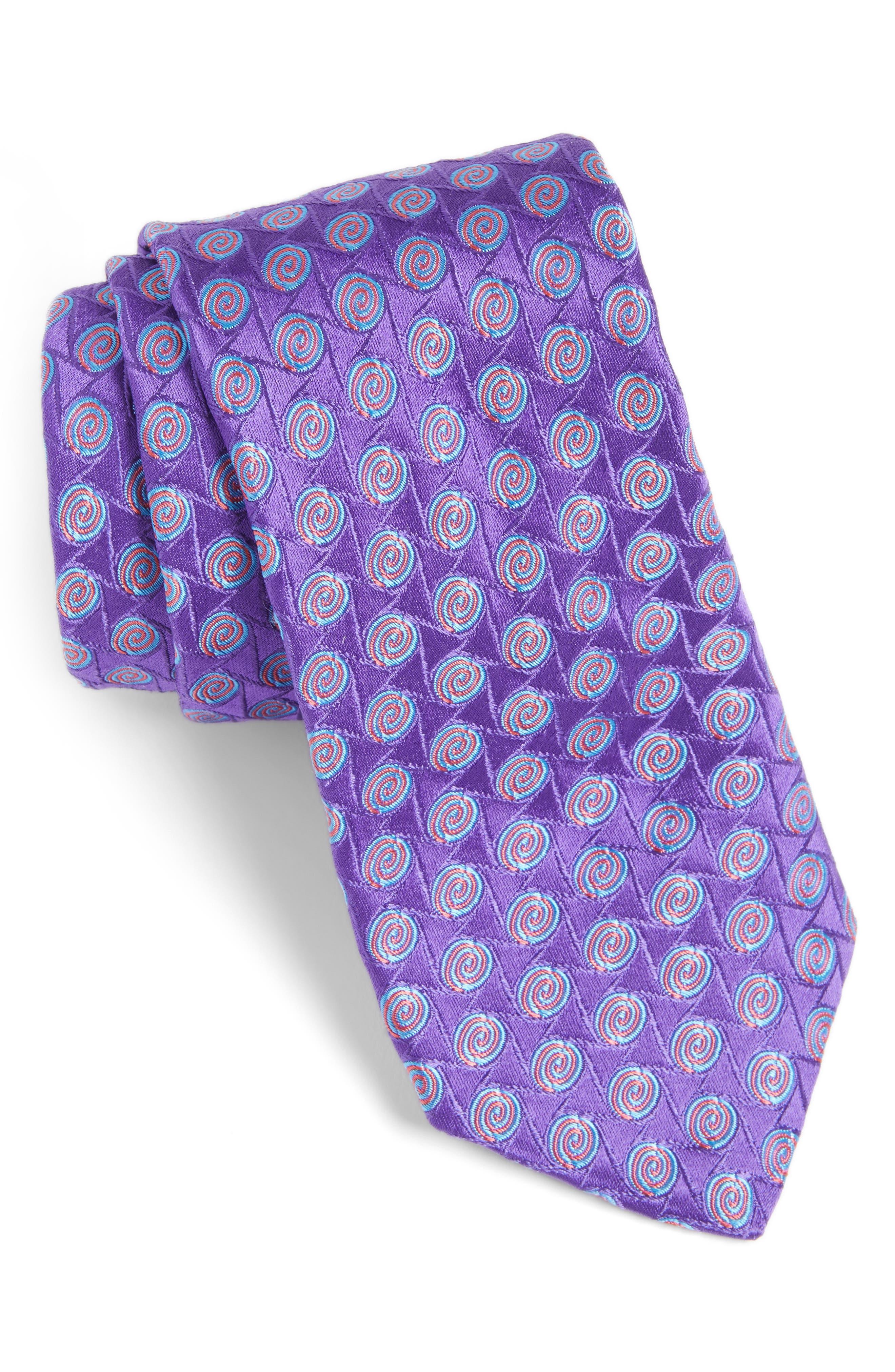 Main Image - Ted Baker London Geometric Silk Tie
