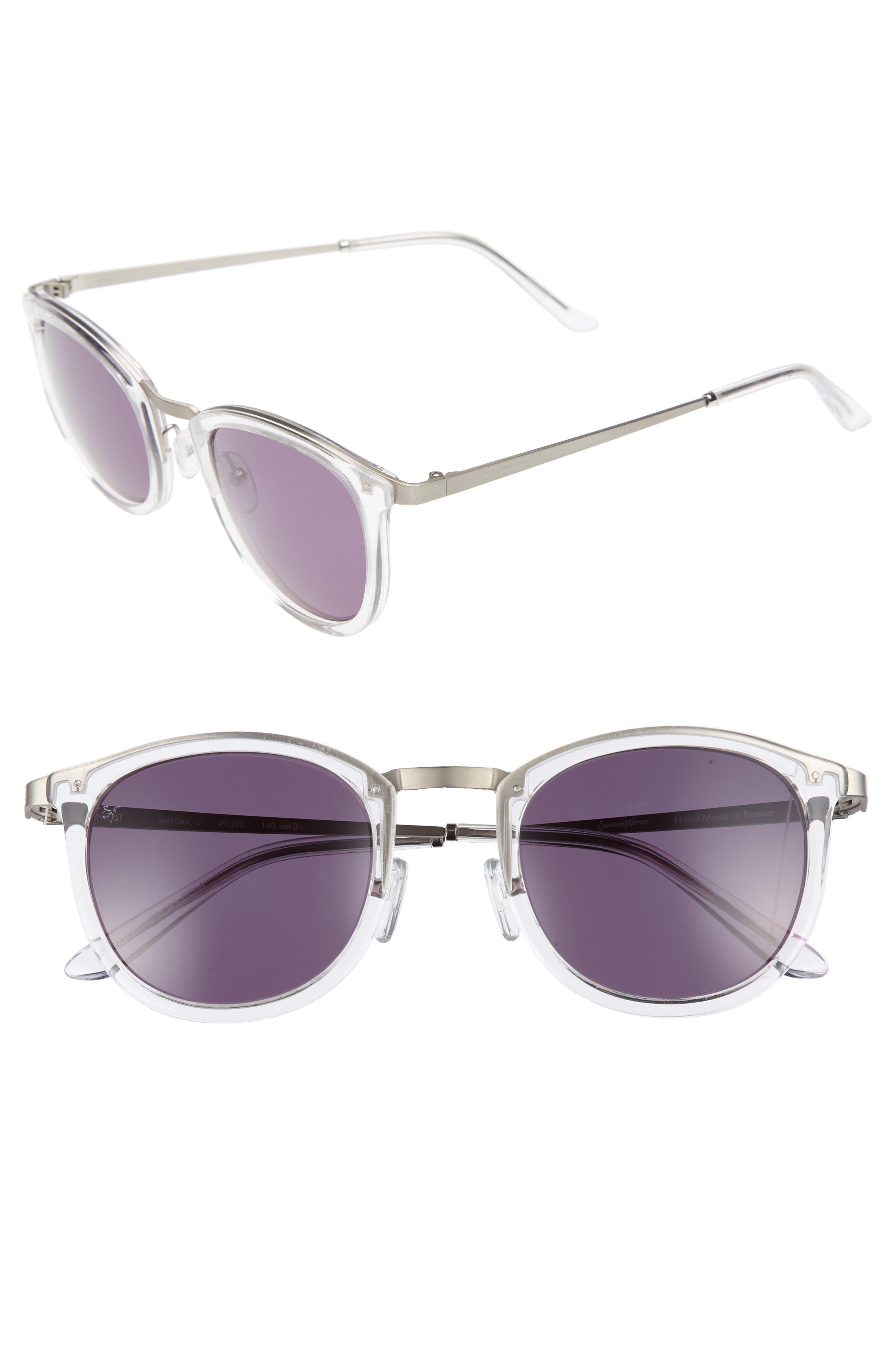 SMOKE X MIRRORS Shout 49mm Retro Sunglasses