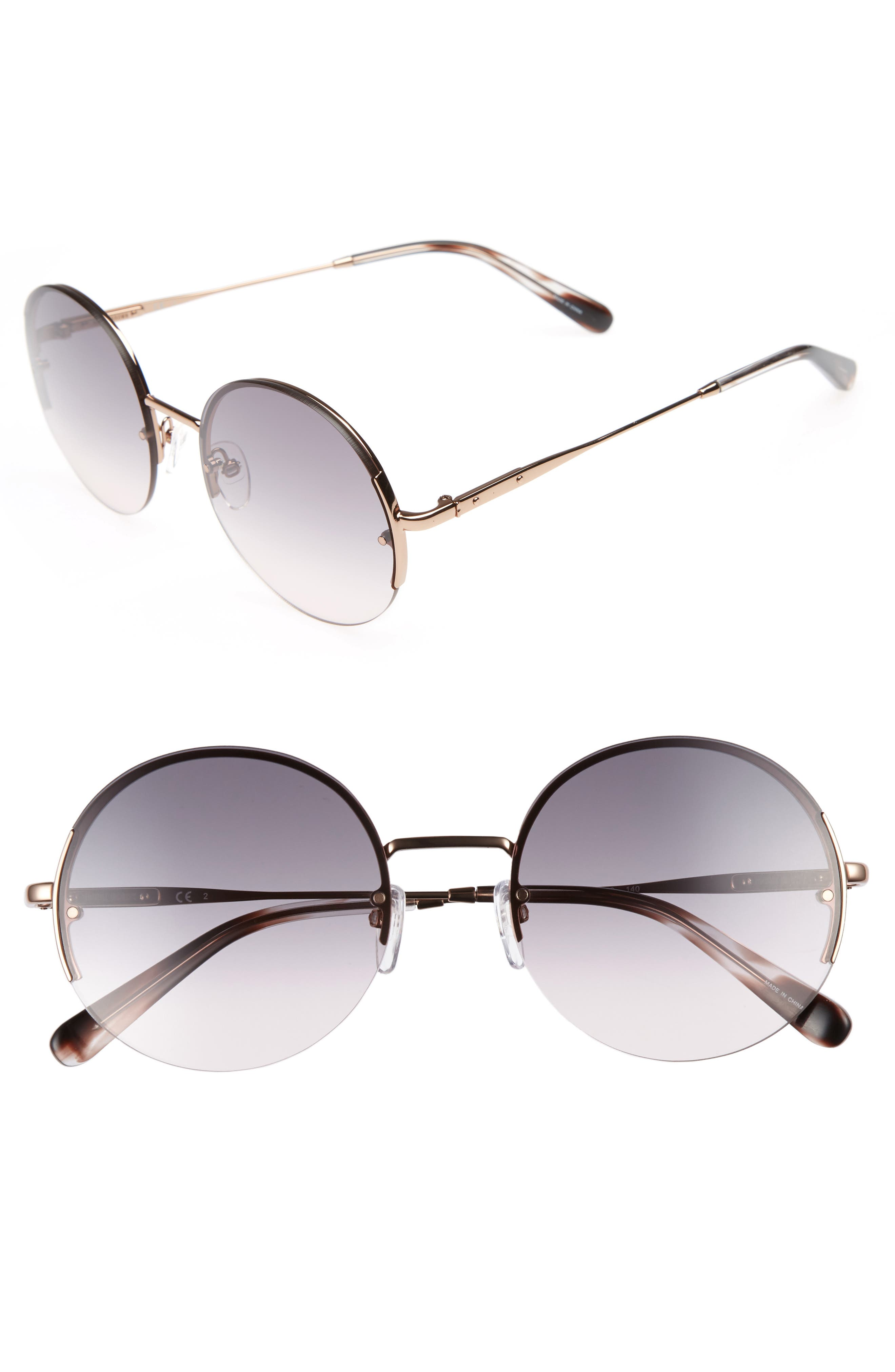 Bobbi Brown 55mm Round Sunglasses