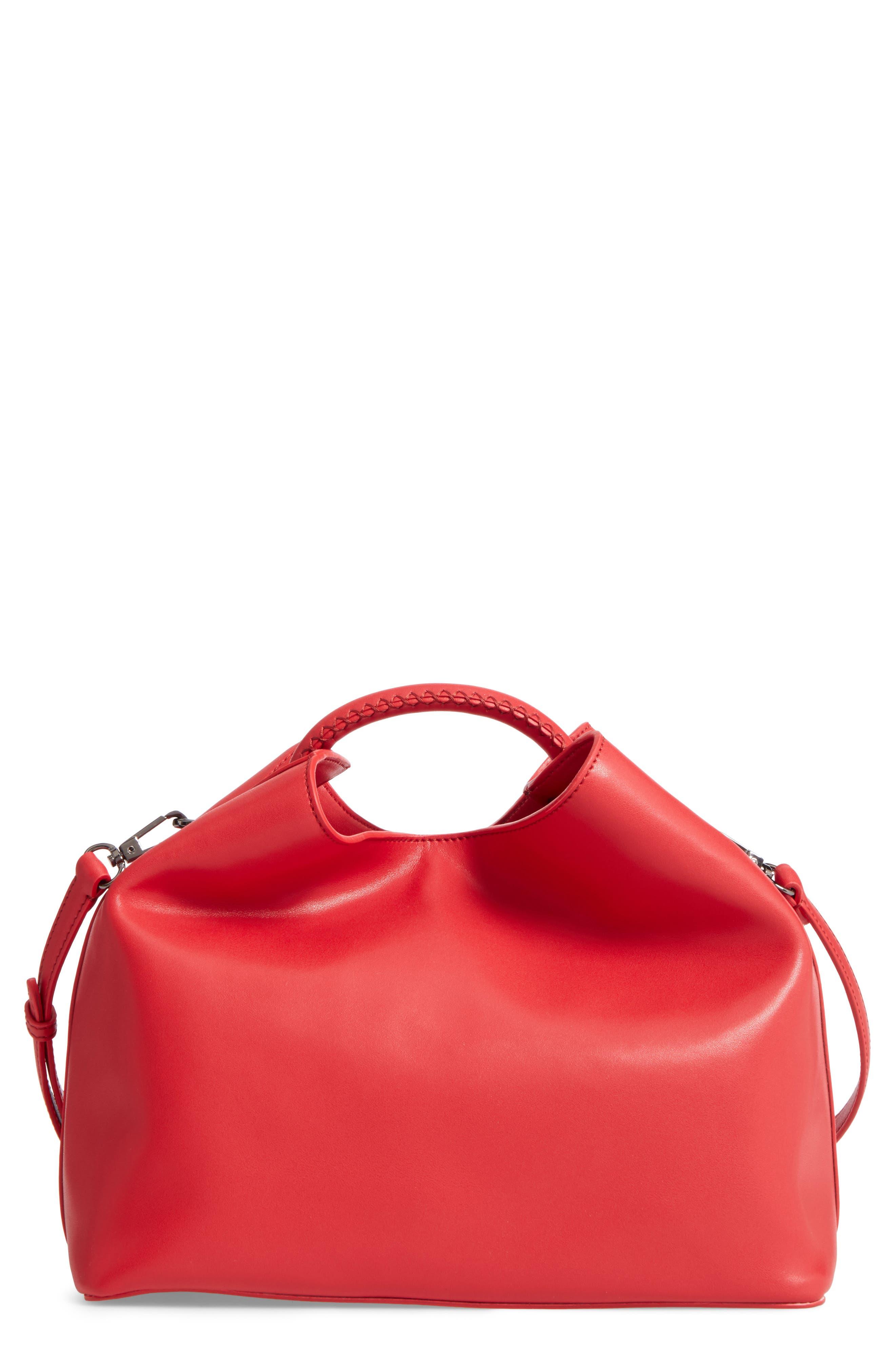 Alternate Image 1 Selected - Elleme Raisin Leather Handbag