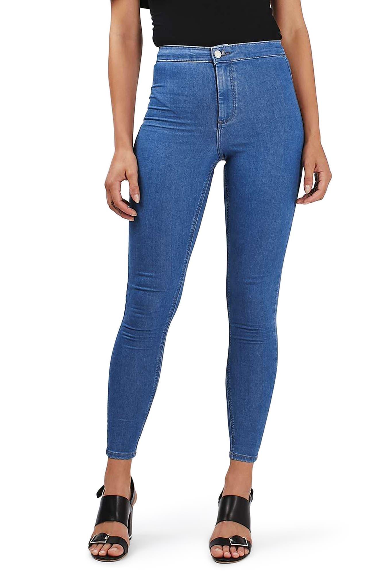 Alternate Image 1 Selected - Topshop Joni Skinny Jeans (Tall)