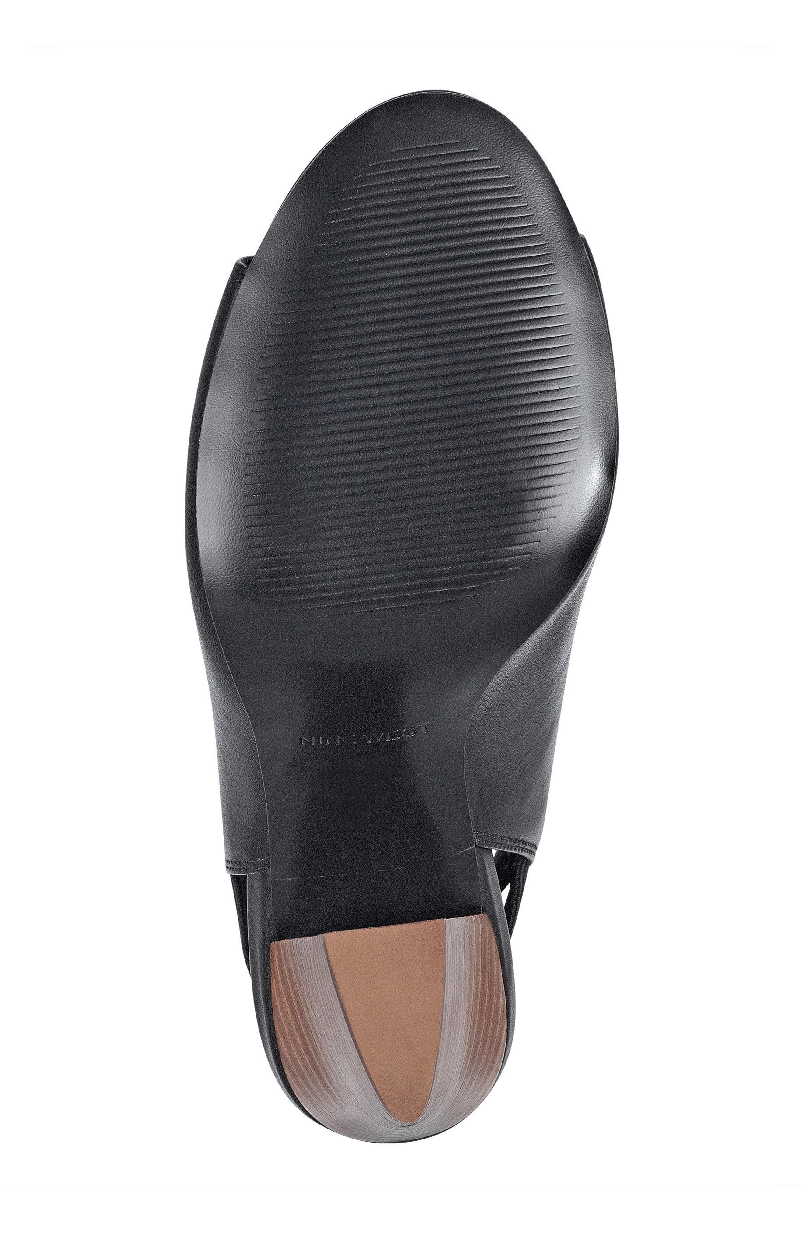Alternate Image 6  - Nine West Zofee Peep Toe Bootie (Women)