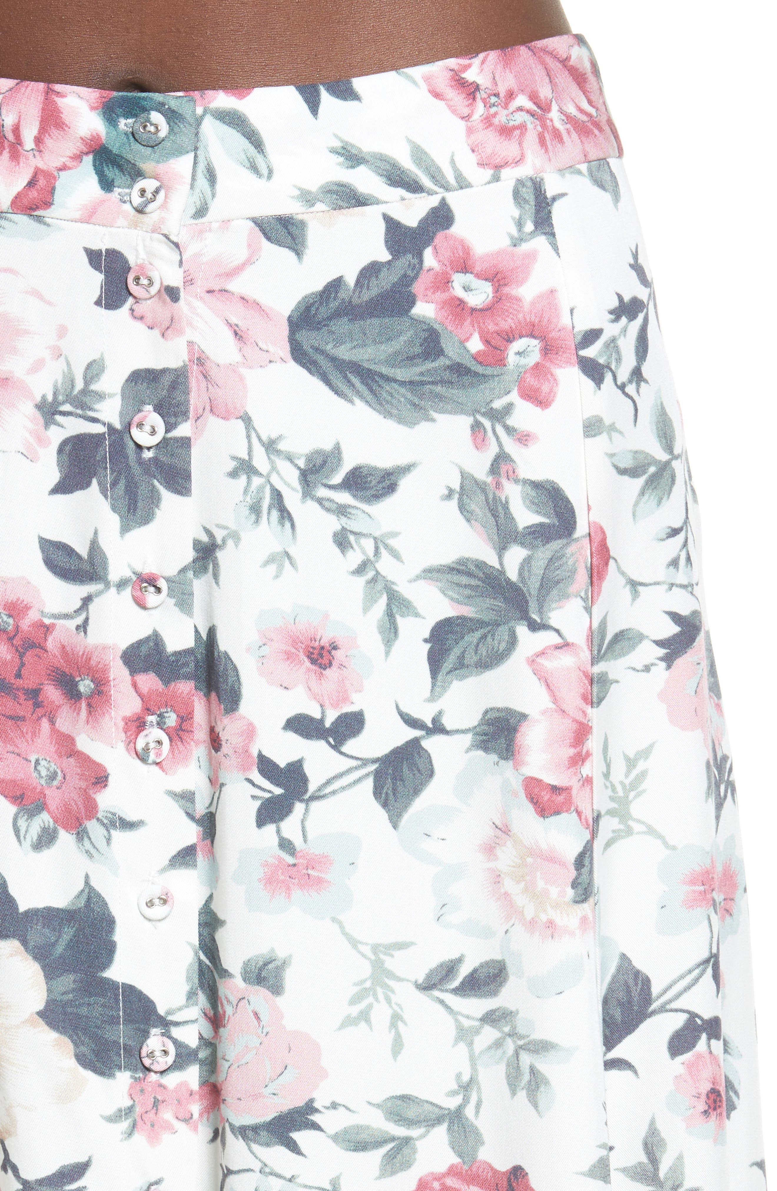 Sunday Midi Skirt,                             Alternate thumbnail 5, color,                             Carnation