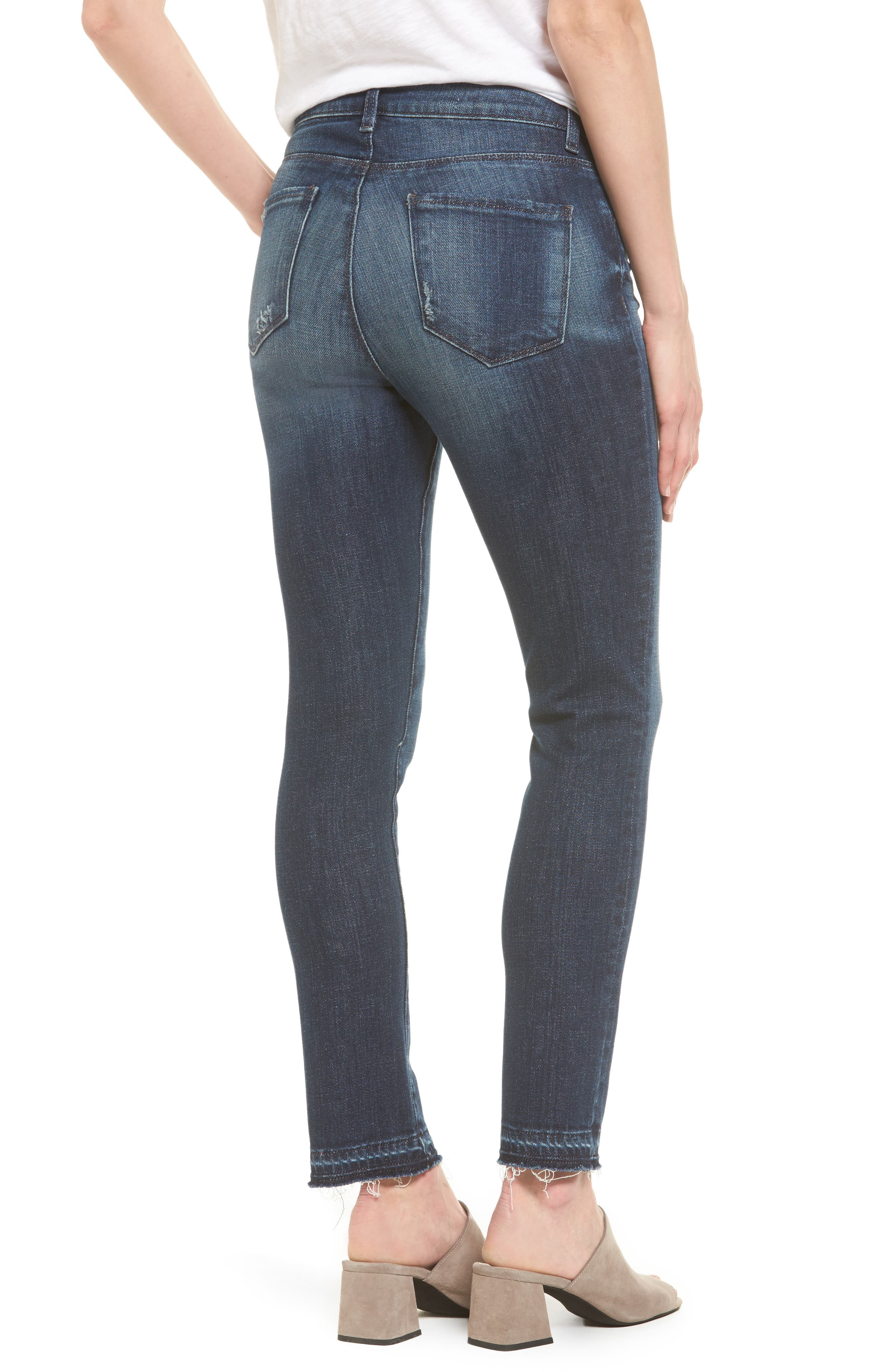 Alternate Image 2  - KUT from the Kloth Reese Release Hem Ankle Jeans (Prevailing)