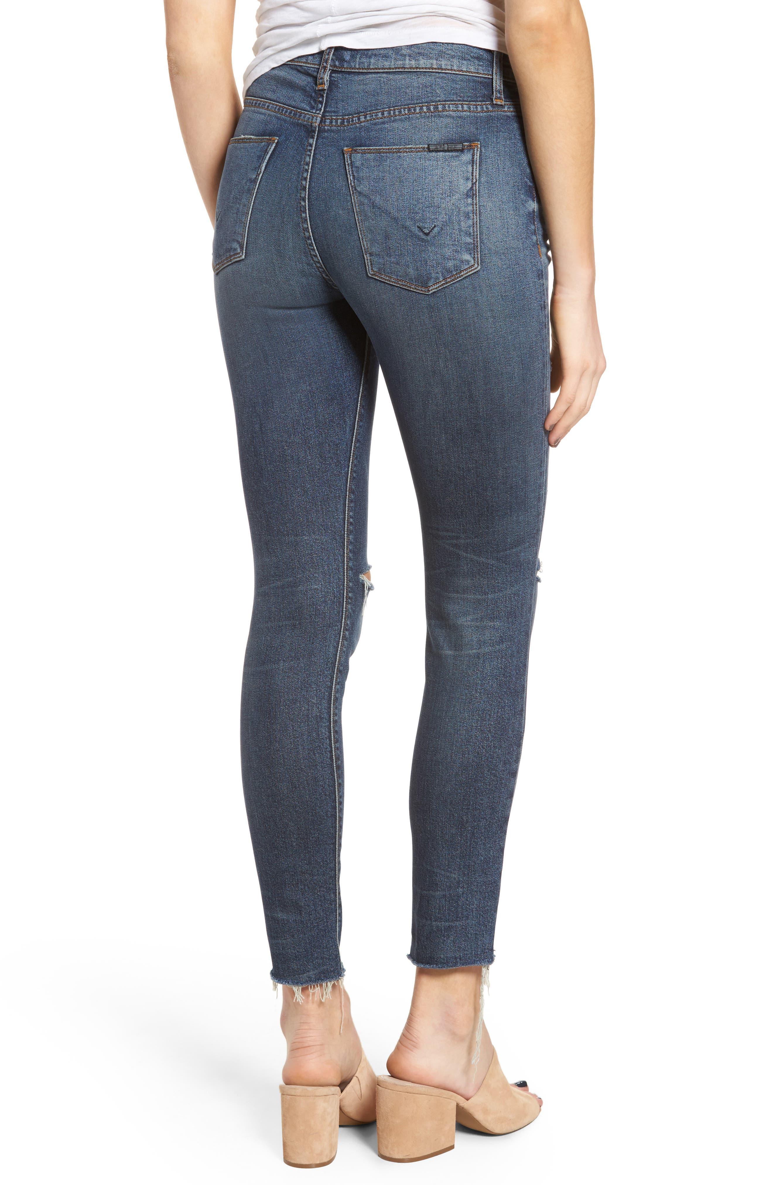 Barbara High Waist Skinny Jeans,                             Alternate thumbnail 2, color,                             Nowhere Girl