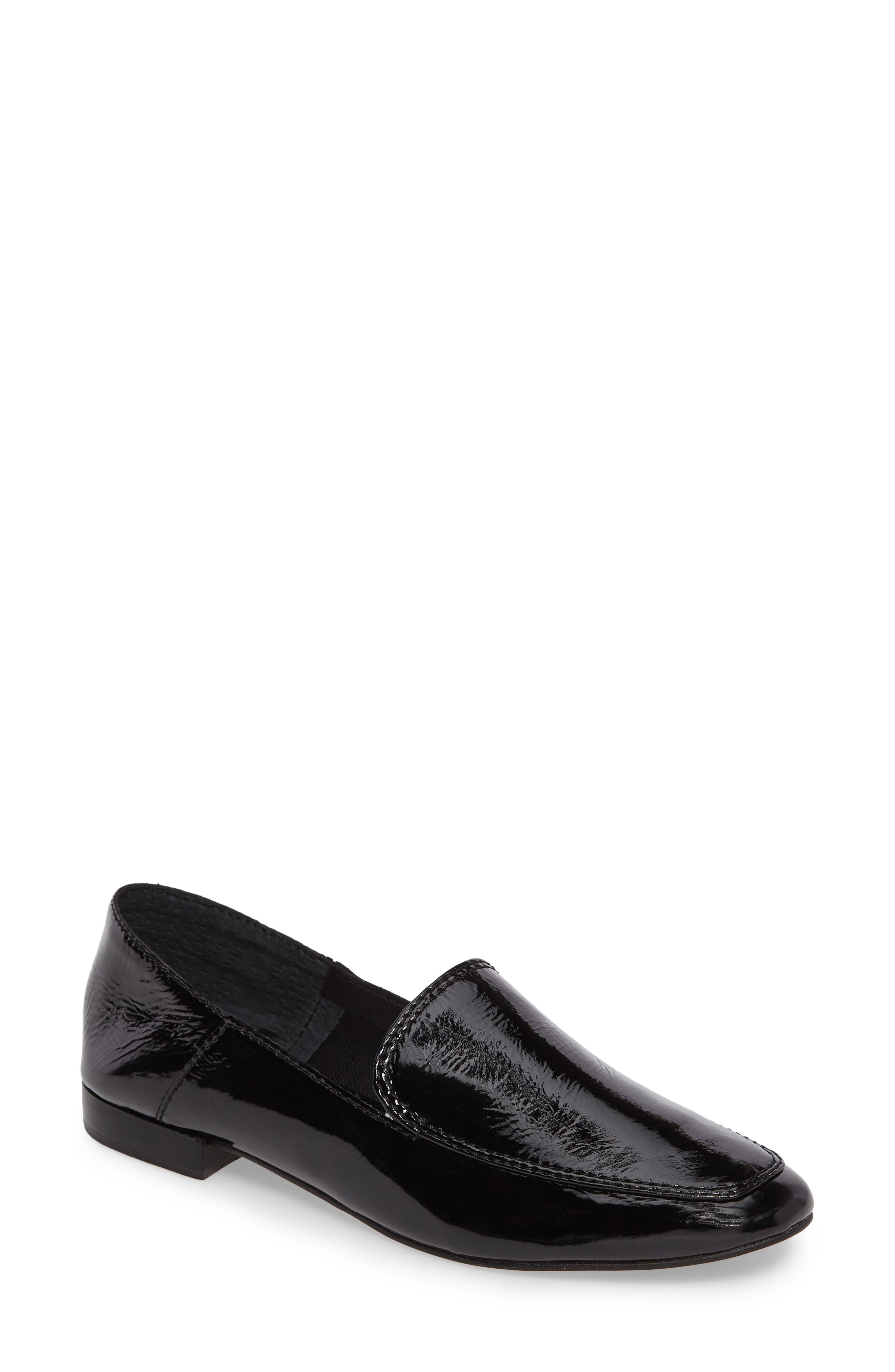Camden Loafer,                             Main thumbnail 1, color,                             Onyx Patent Leather