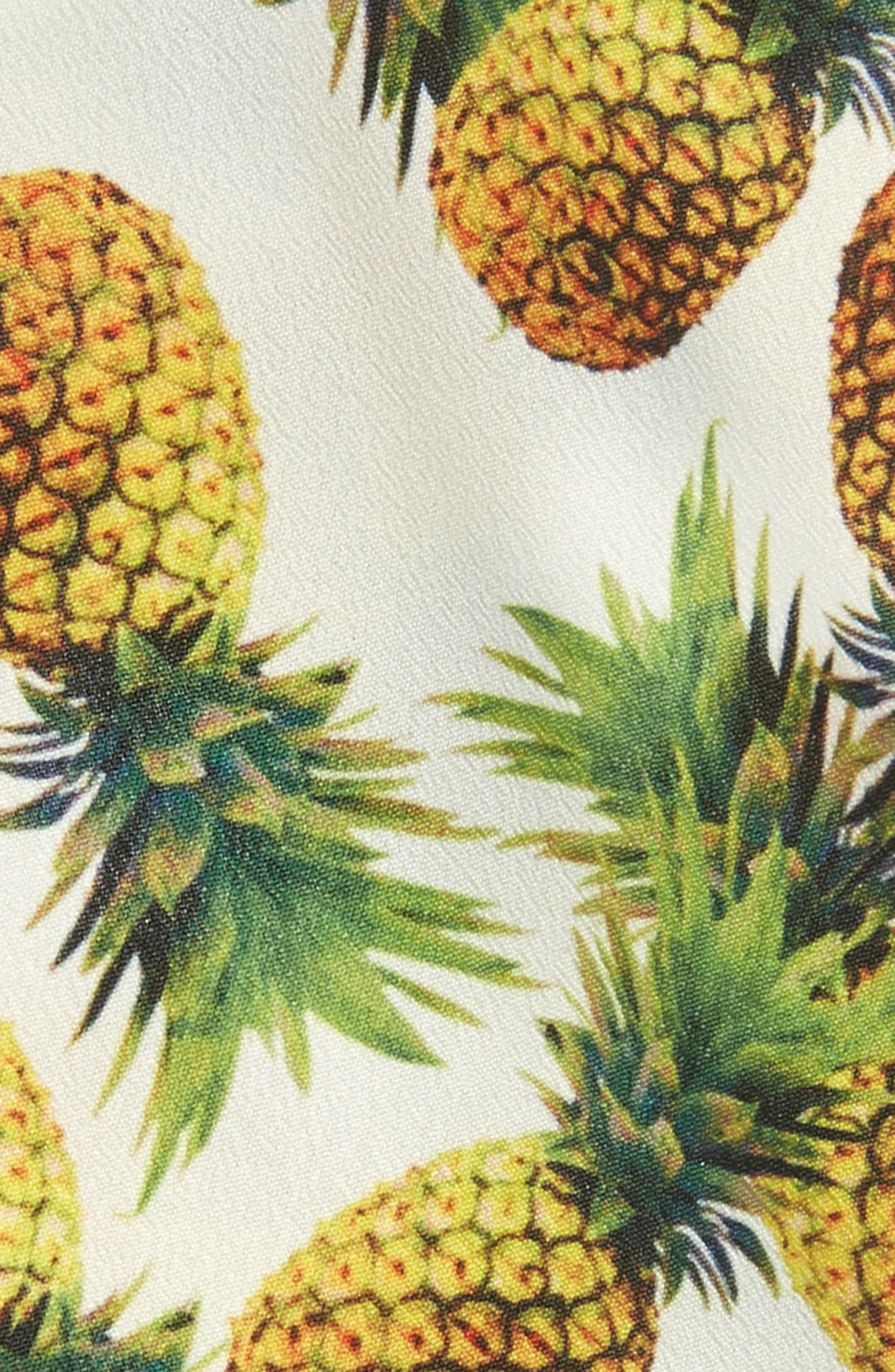Alternate Image 2  - Cara Pineapple Print Head Wrap
