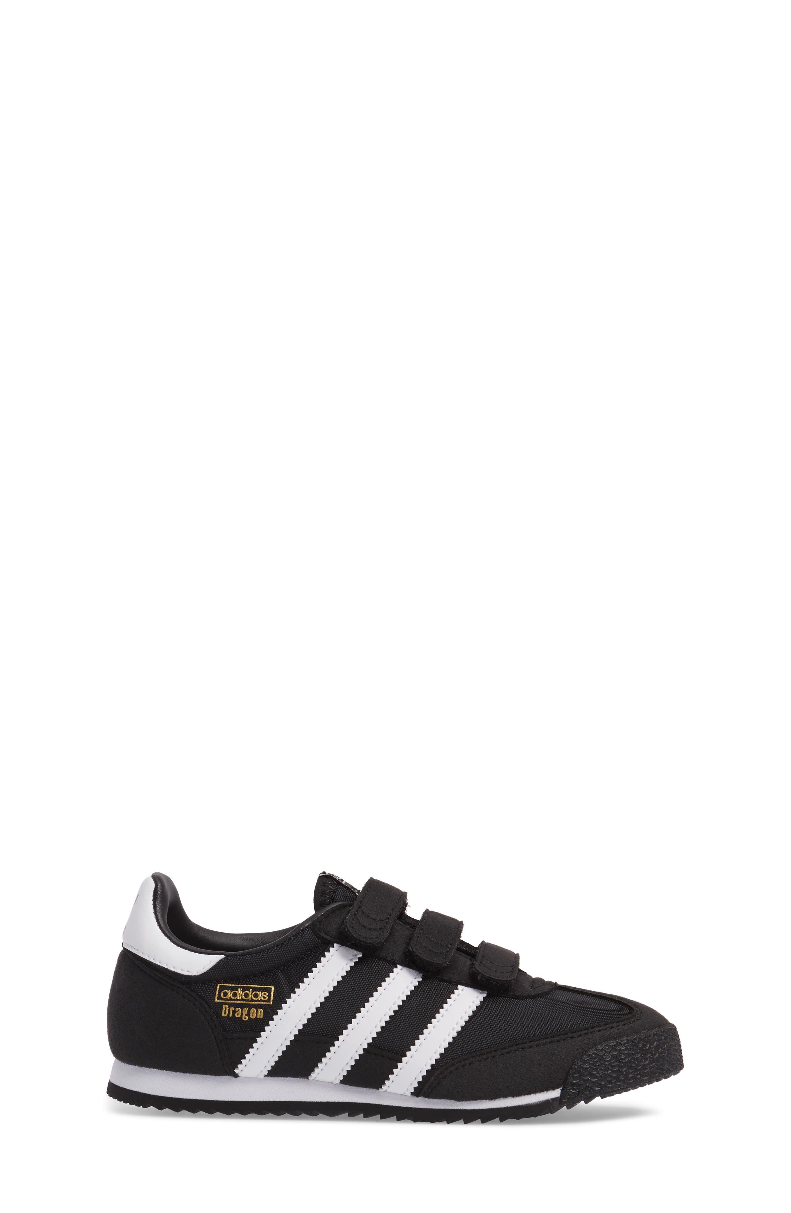 Dragon OG CF Athletic Shoe,                             Alternate thumbnail 3, color,                             Black/ White