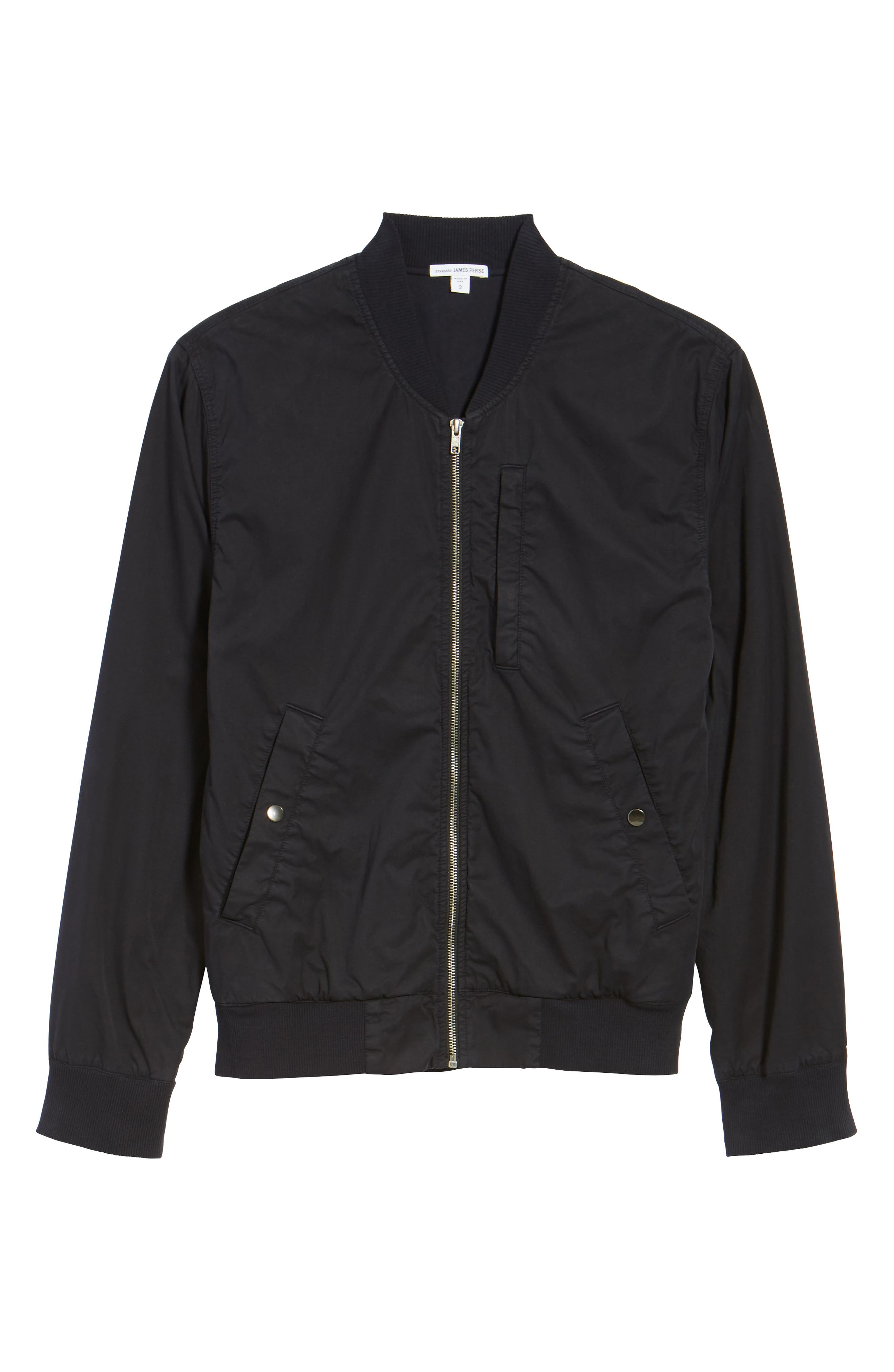 Alternate Image 5  - James Perse Cotton Bomber Jacket