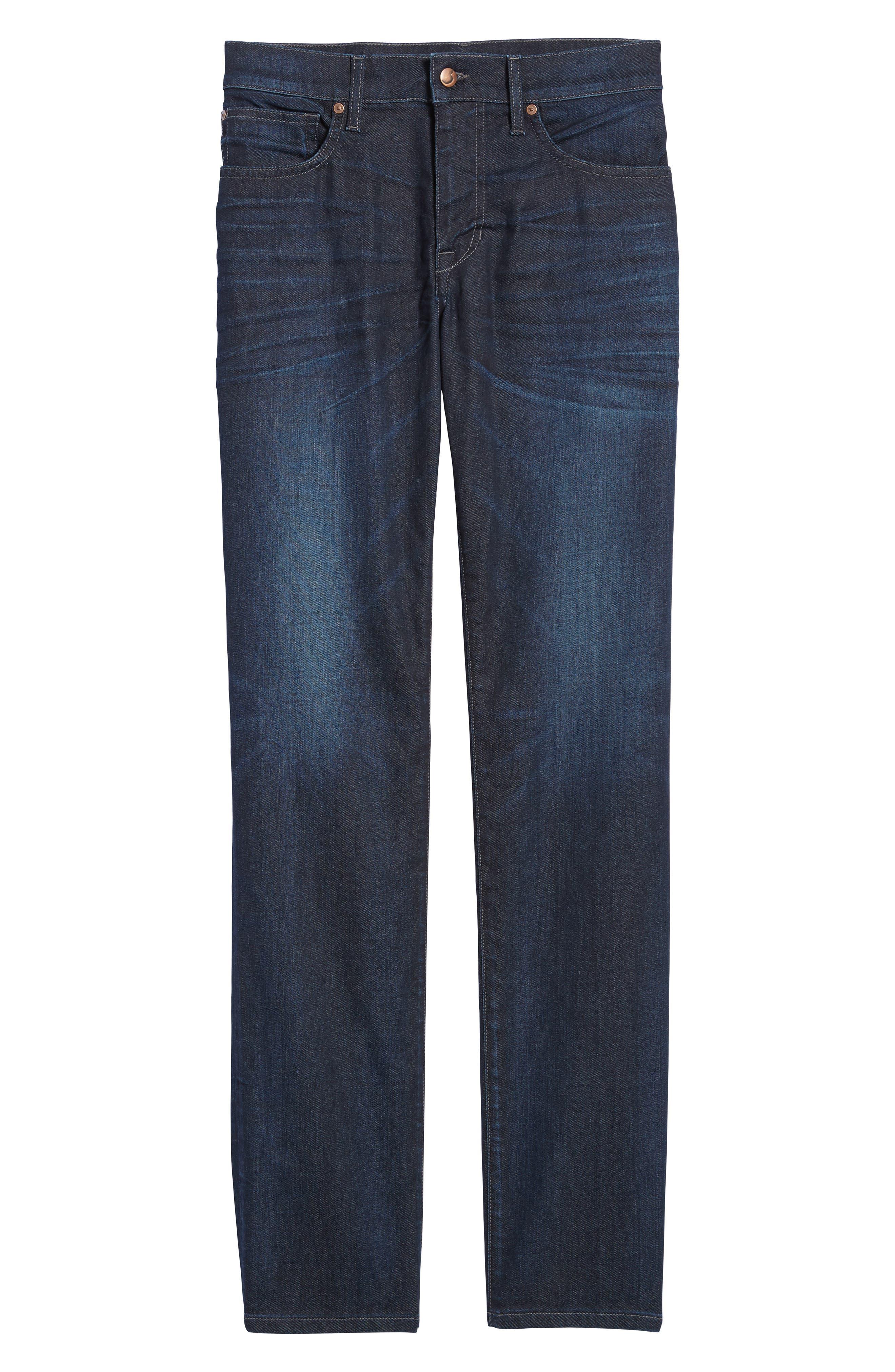 Brixton Slim Straight Leg Jeans,                             Alternate thumbnail 6, color,                             Guest