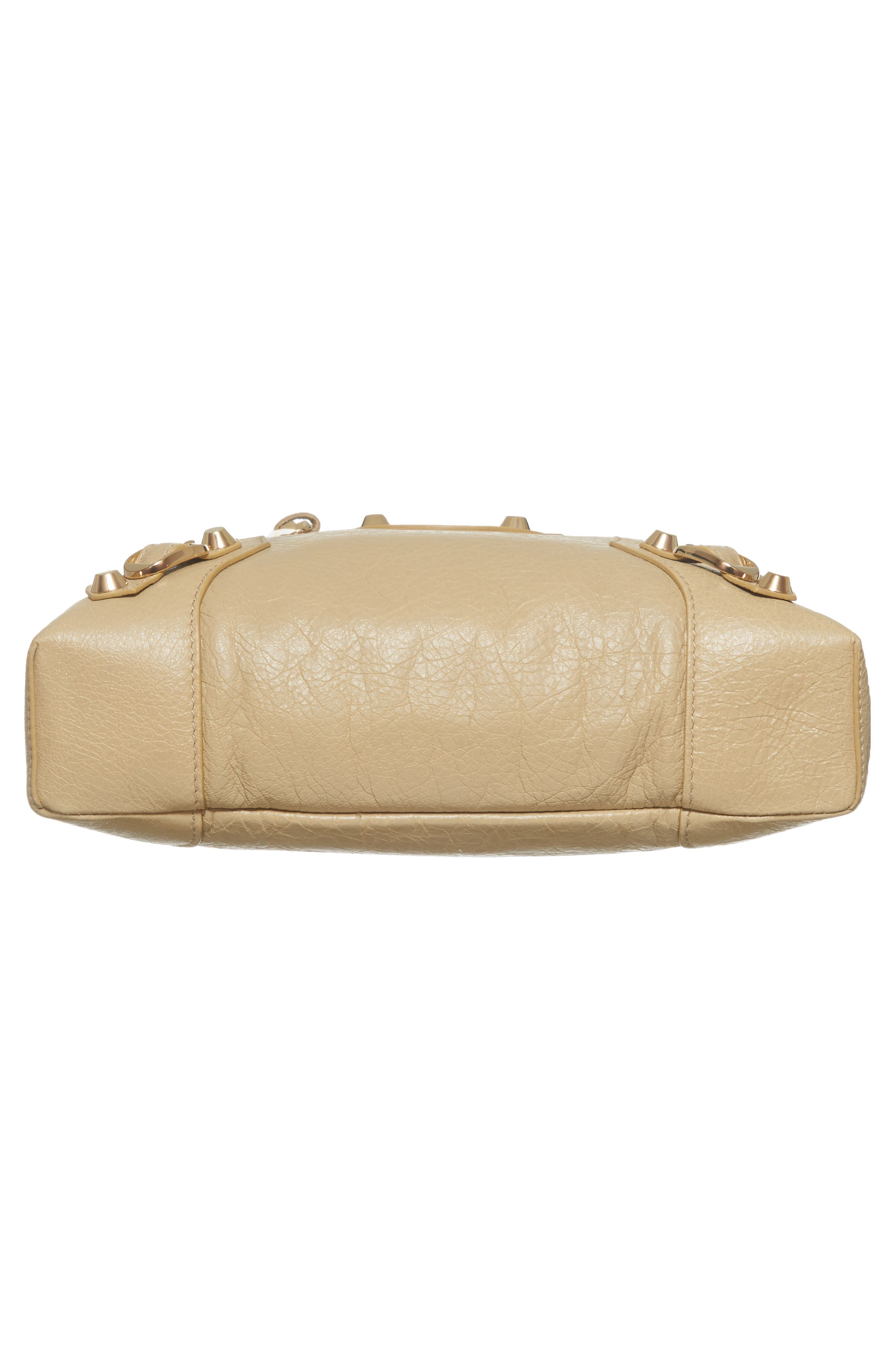 Classic Reporter Leather Camera Bag,                             Alternate thumbnail 6, color,                             2616 Beige Sable