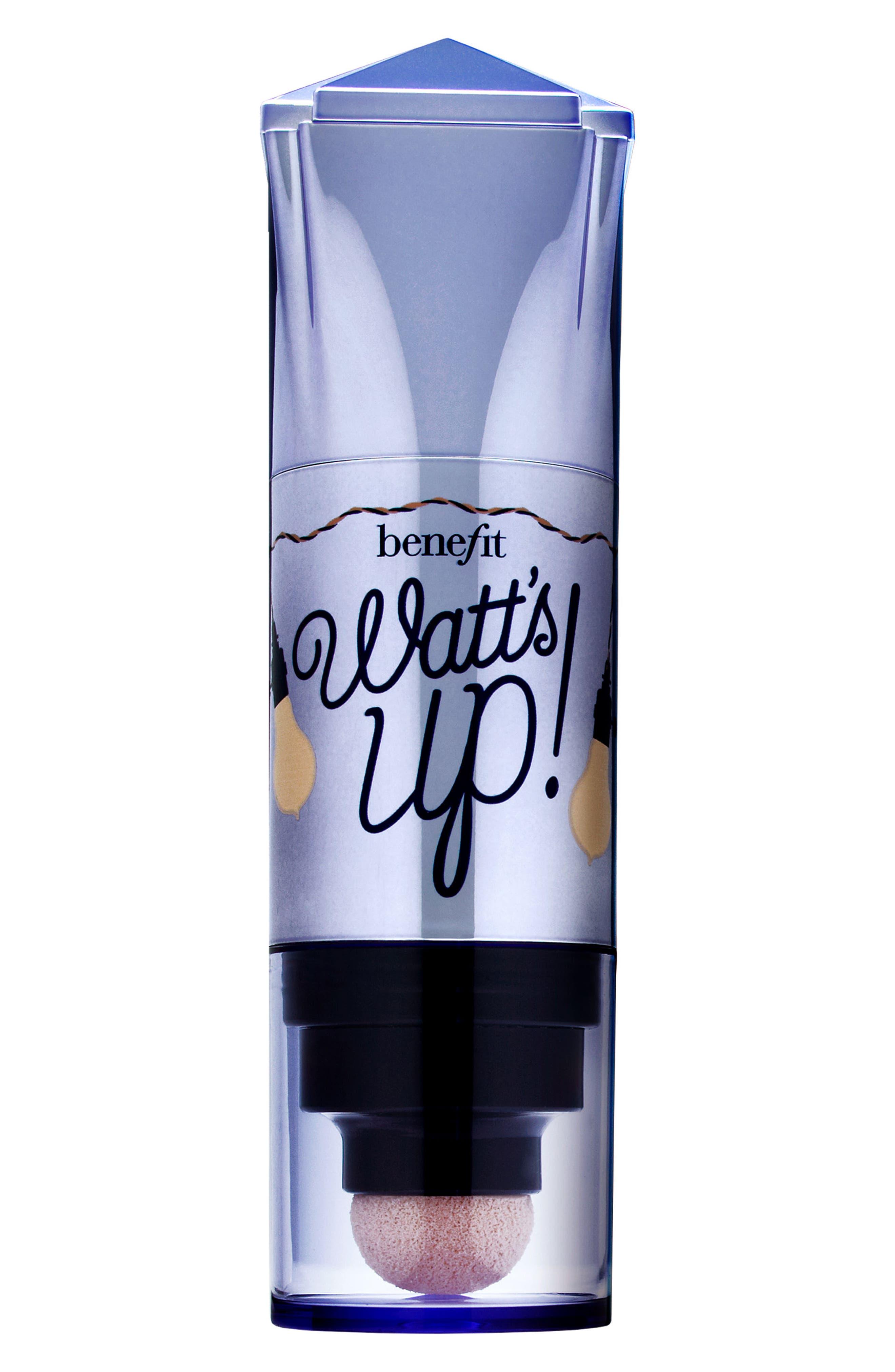 Alternate Image 4  - Benefit Watt's Up! Champagne Cream-to-Powder Highlighter