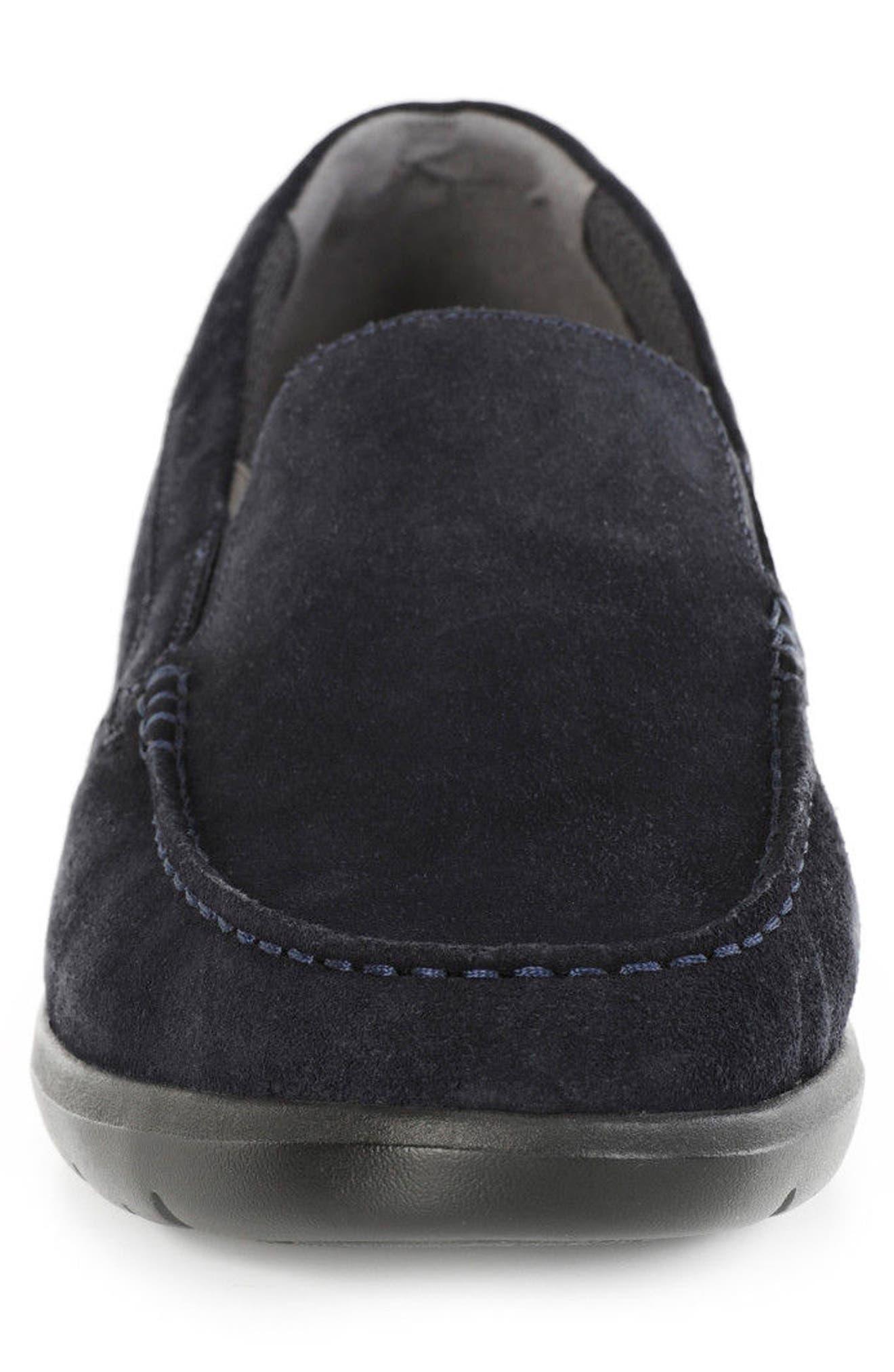 Leitan 2 Loafer,                             Alternate thumbnail 4, color,                             Navy