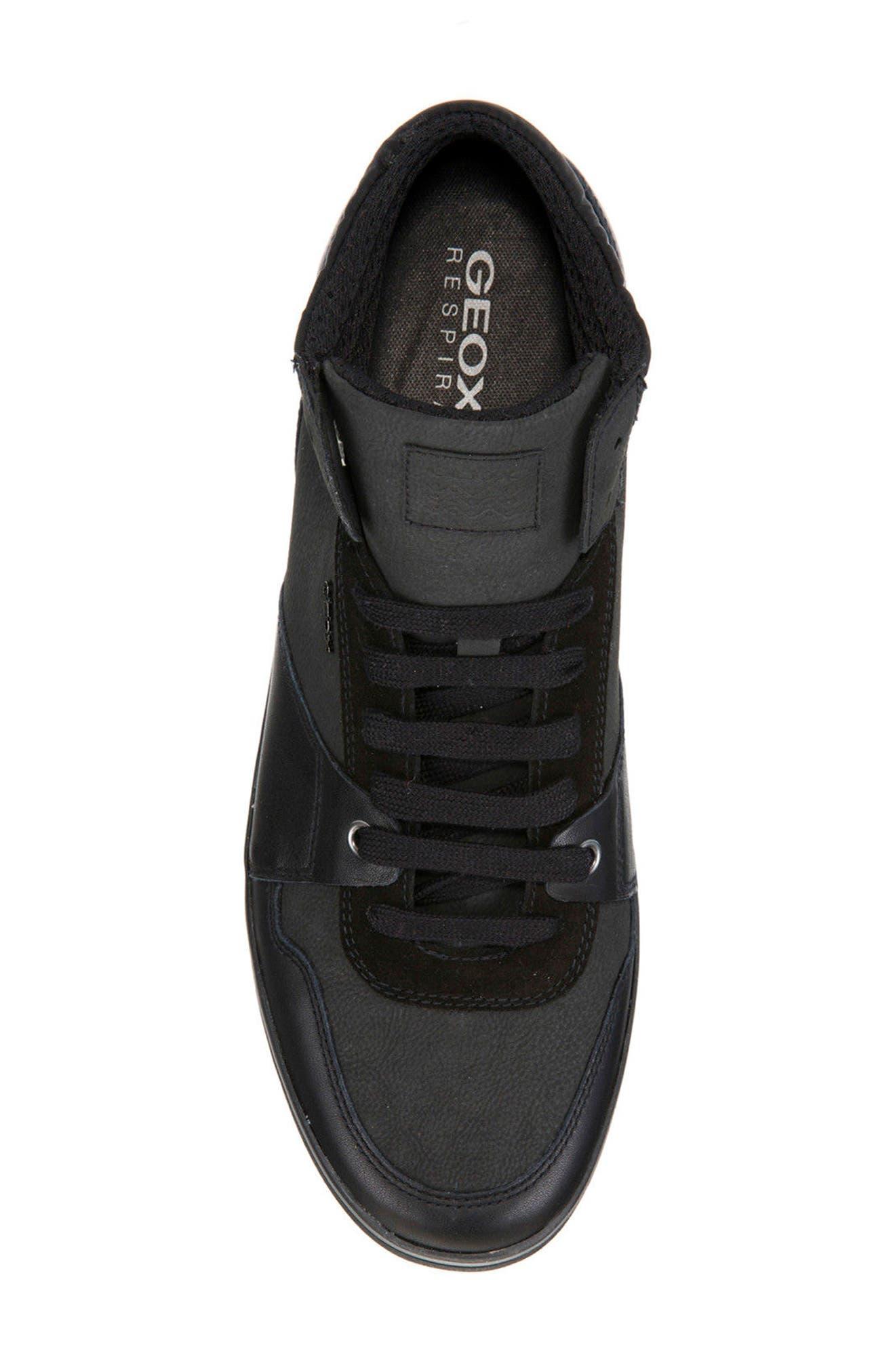 Box 31 High Top Sneaker,                             Alternate thumbnail 5, color,                             Black