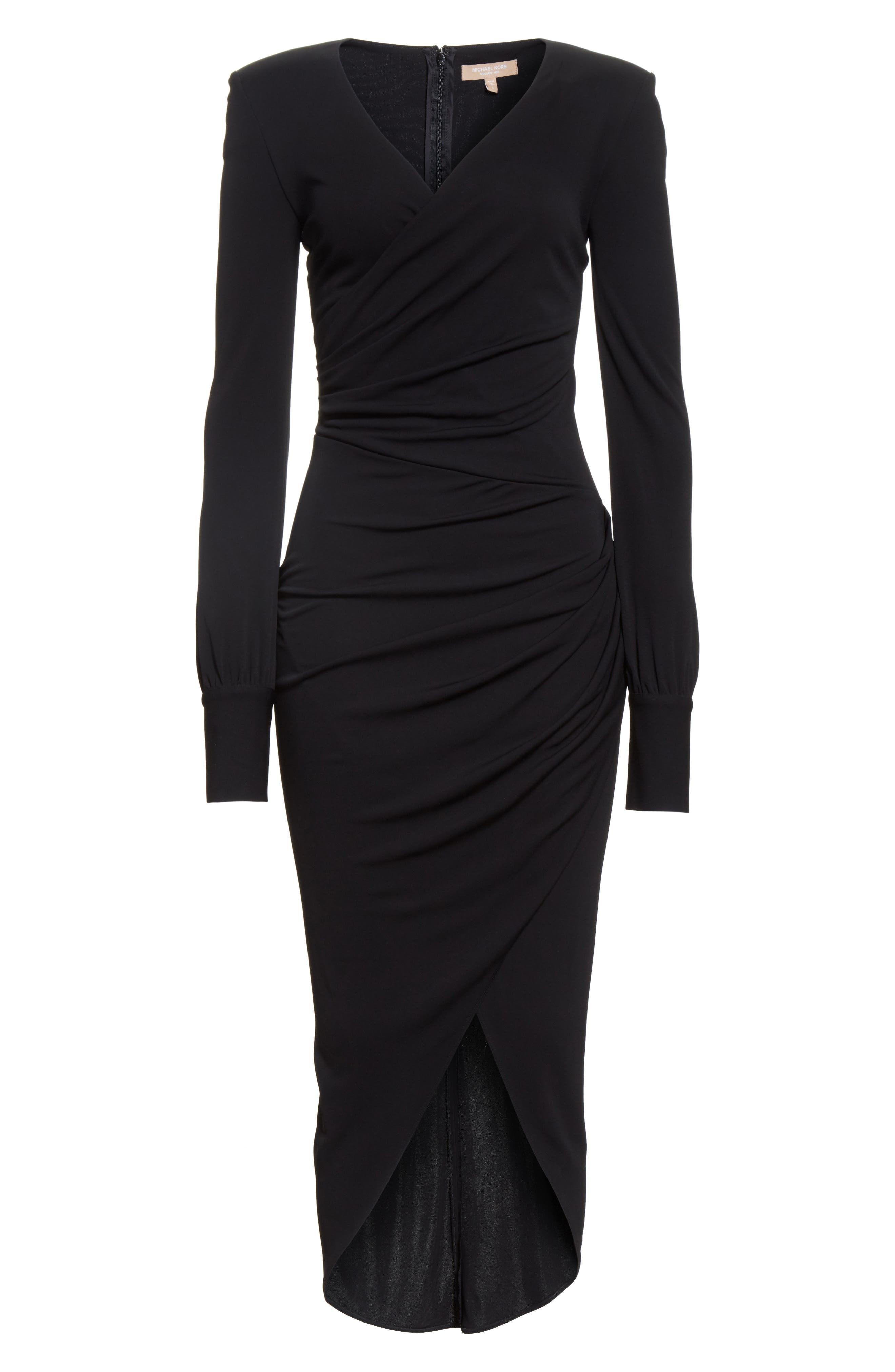 Alternate Image 4  - Michael Kors Stretch Jersey Wrap Dress