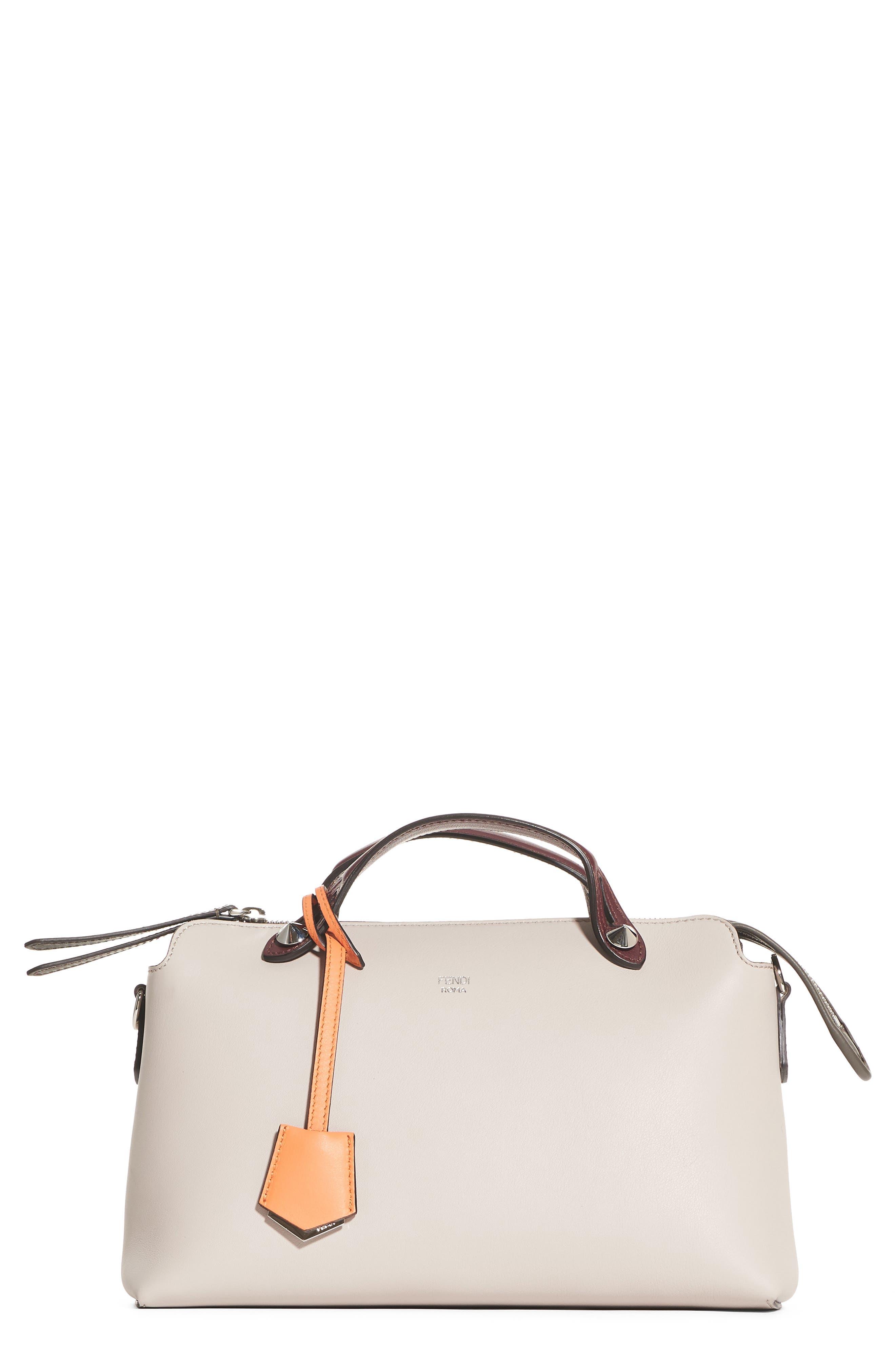 FENDI Medium By the Way Colorblock Leather Shoulder Bag