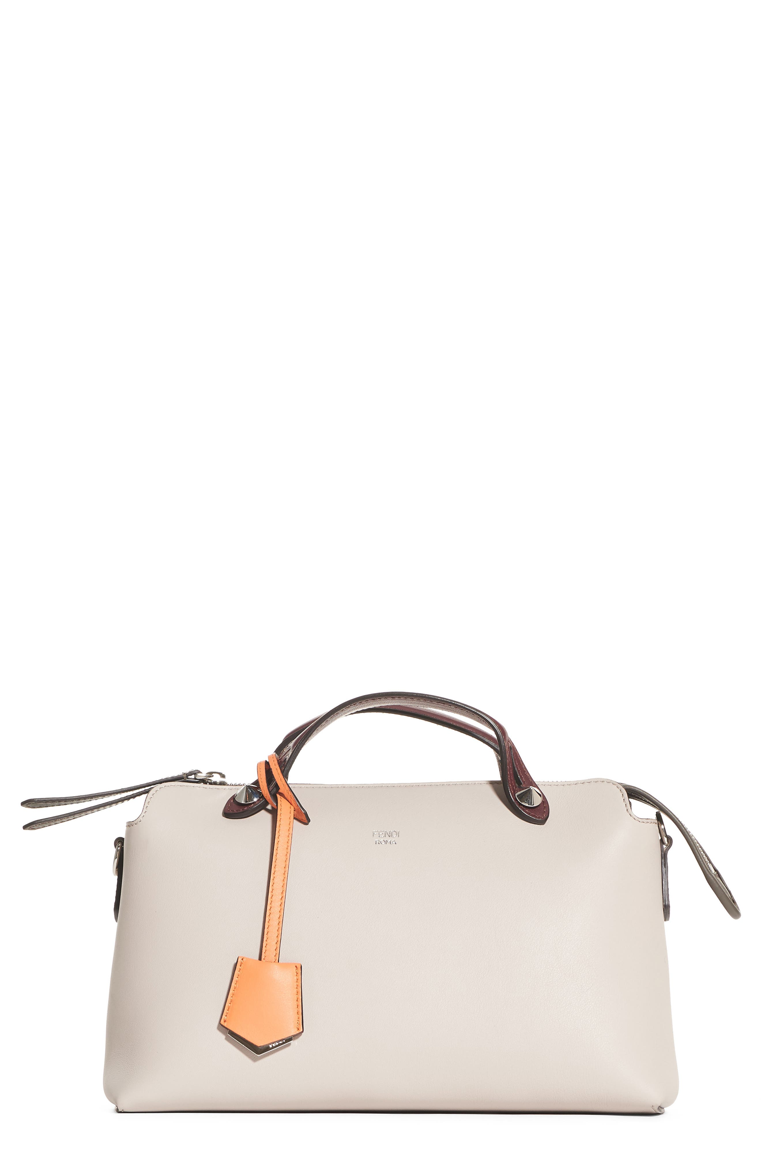 Alternate Image 1 Selected - Fendi 'Medium By the Way' Colorblock Leather Shoulder Bag
