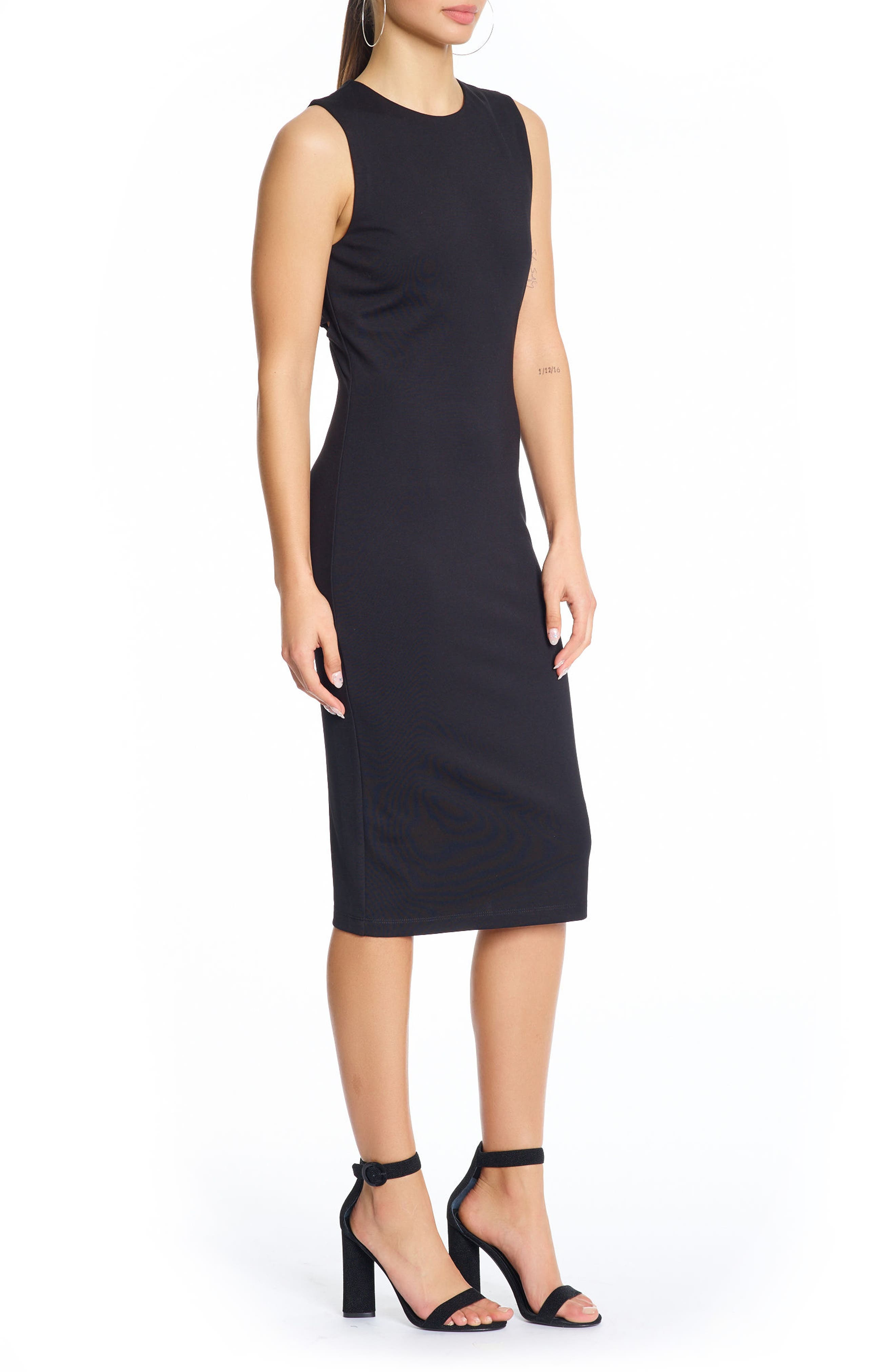 Alternate Image 3  - KENDALL + KYLIE Cutout Body-Con Dress
