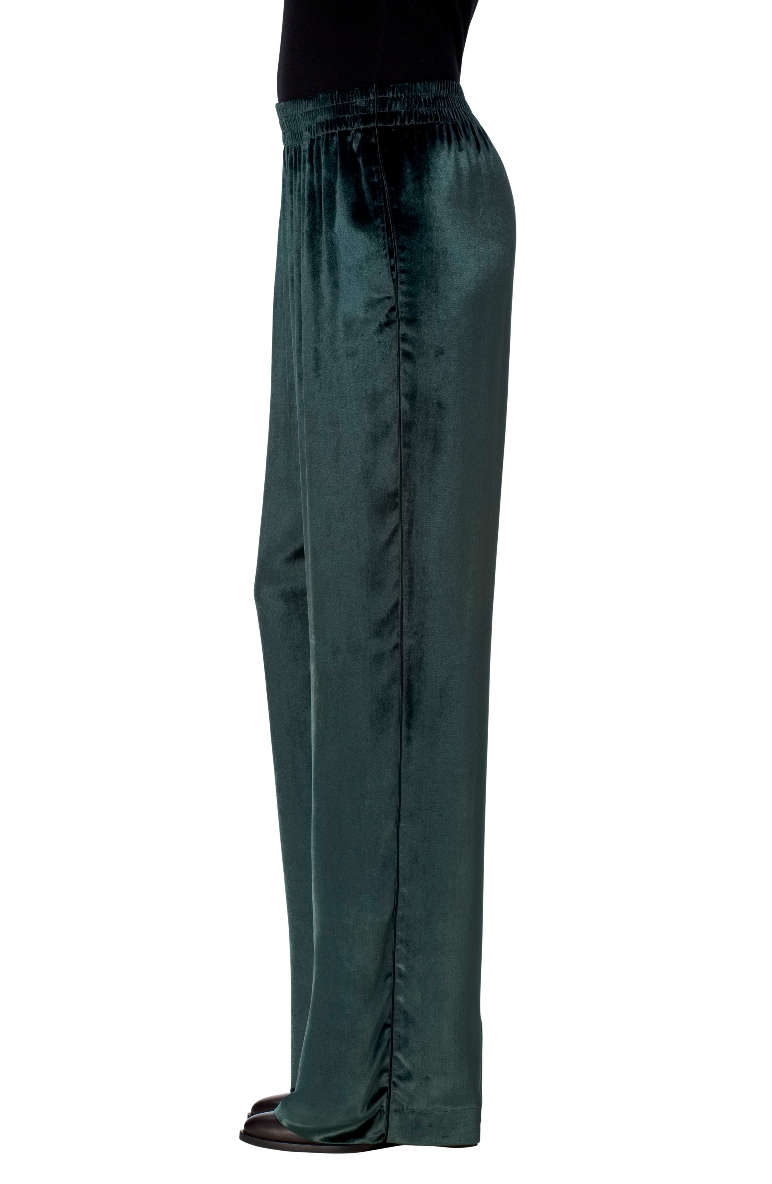 Ardon Velvet Pants,                             Alternate thumbnail 3, color,                             Moorland