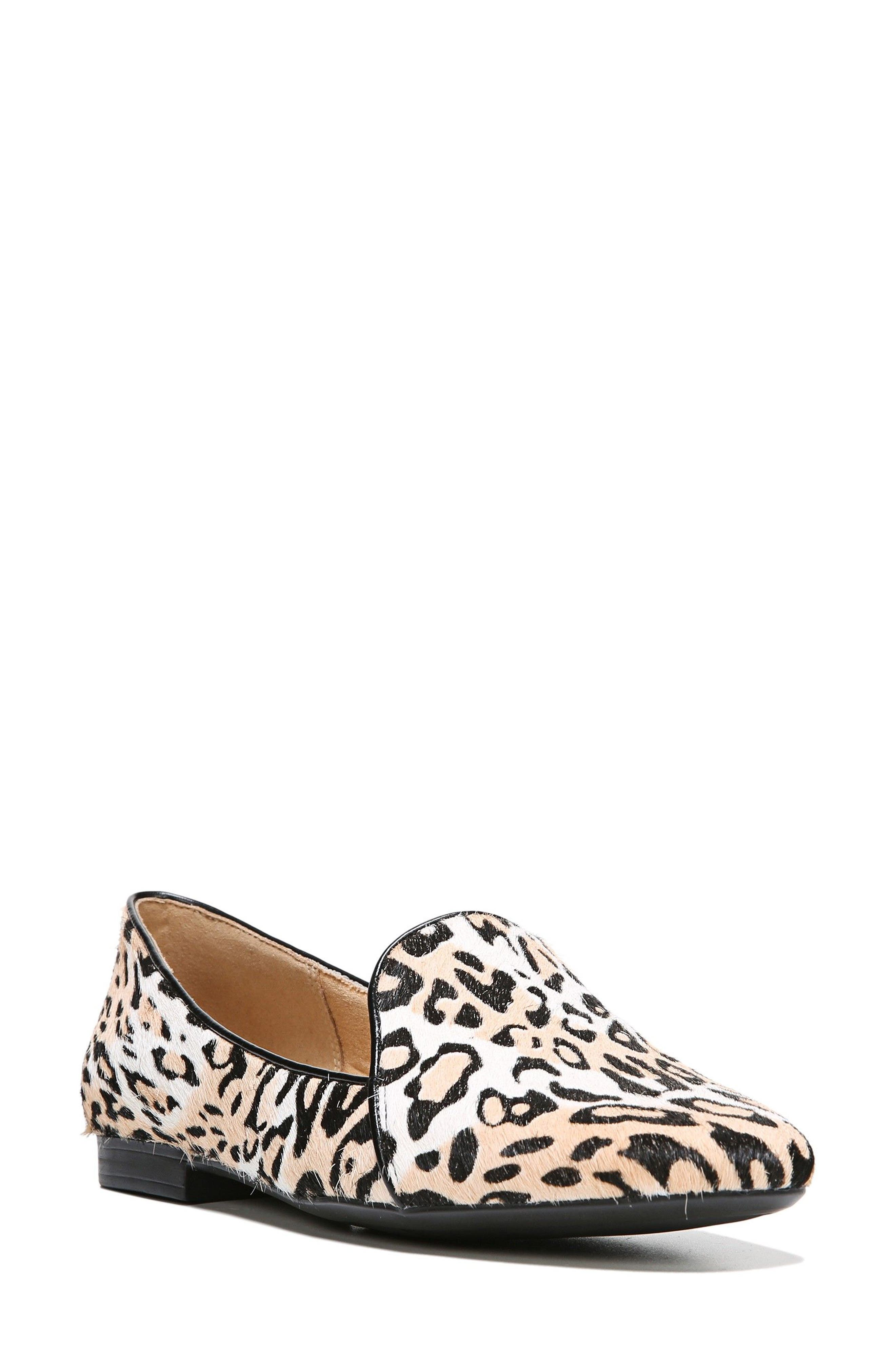Emiline 2 Loafer,                         Main,                         color, Cheetah Brahma Hair