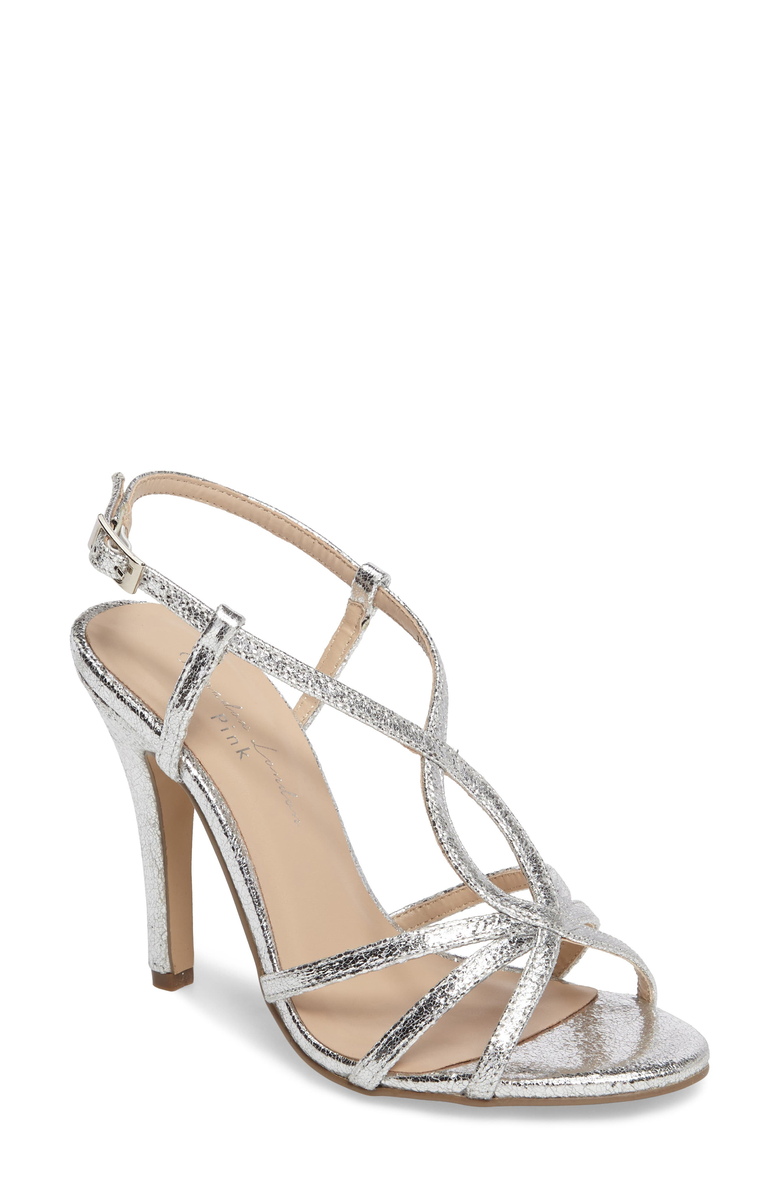 Magic Slingback Sandal,                             Main thumbnail 1, color,                             Silver