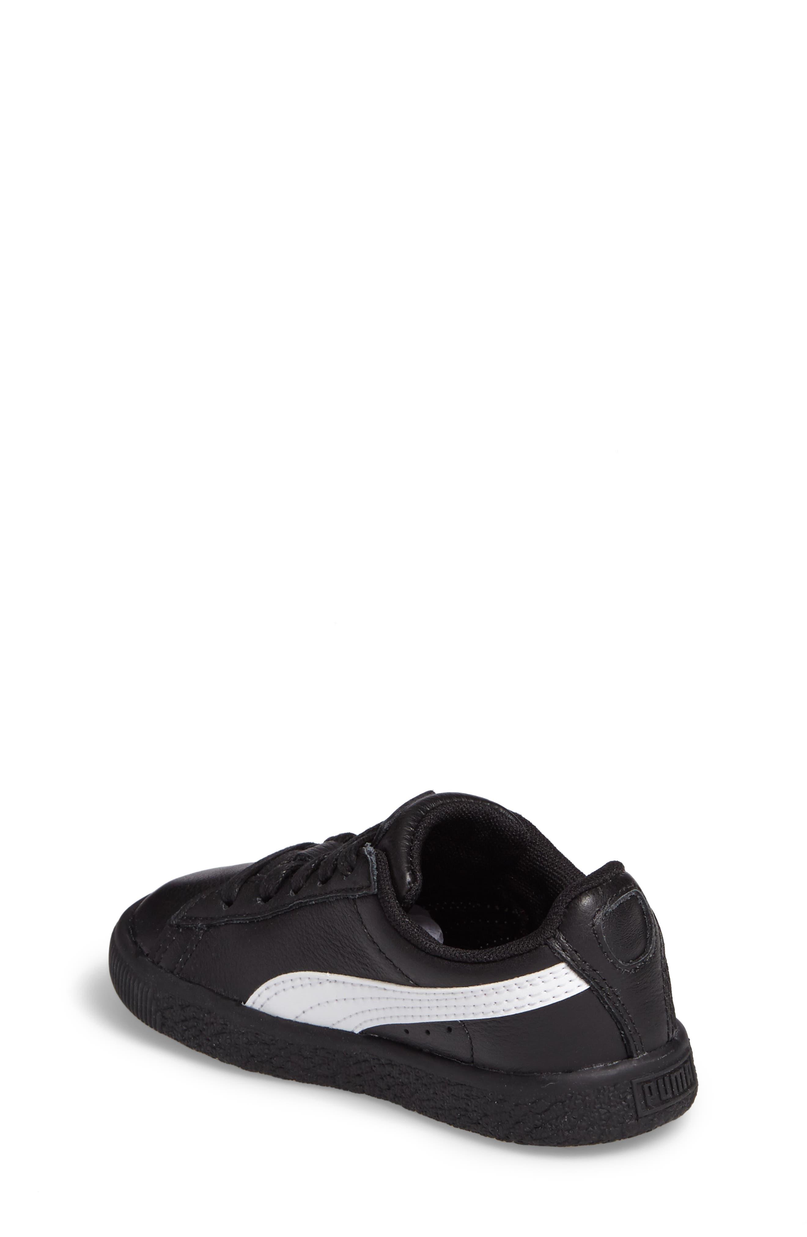 Alternate Image 2  - PUMA Clyde Core Foil Sneaker (Baby, Walker & Toddler)