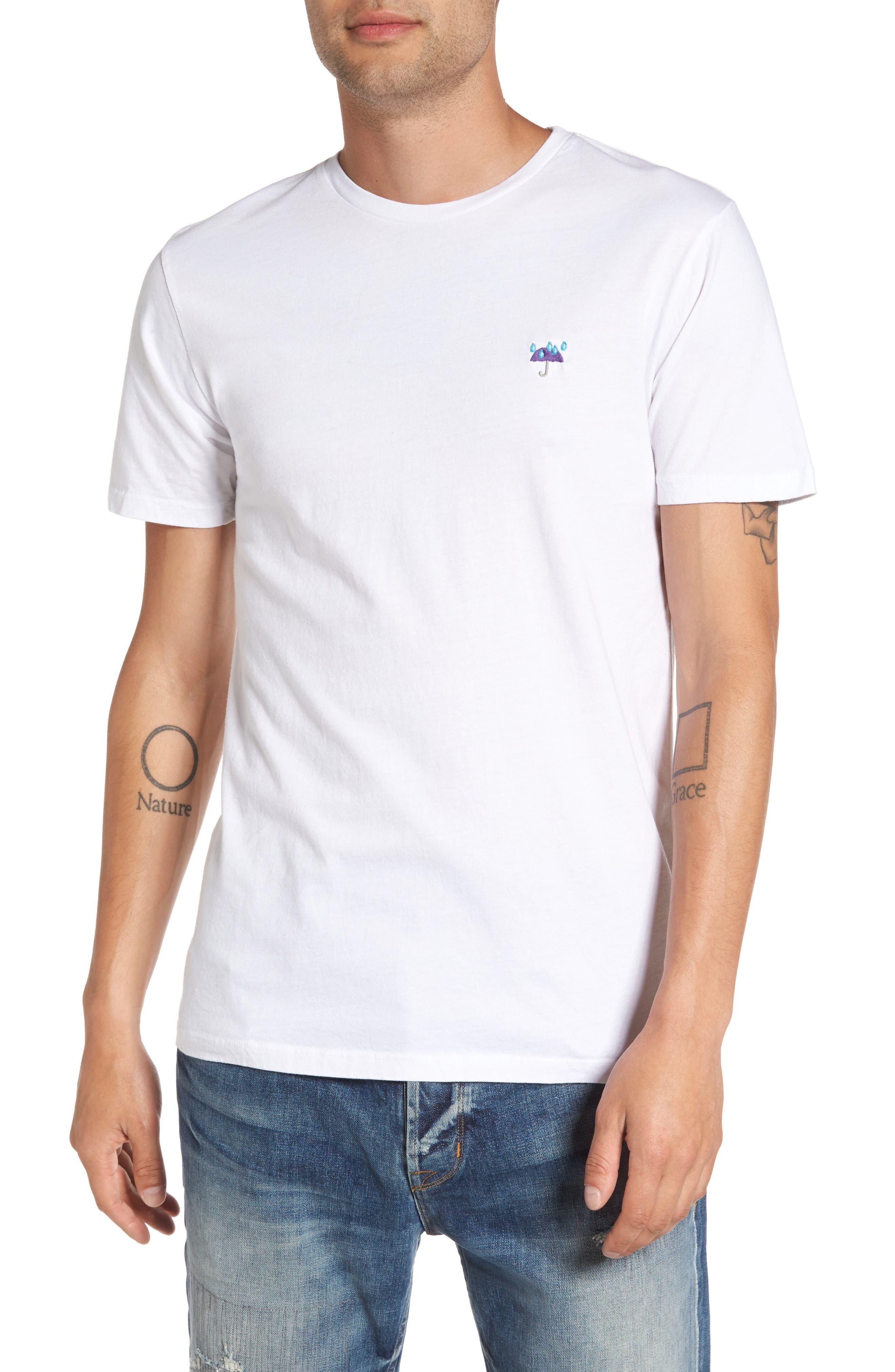 Altru Purple Rain Embroidered T-Shirt