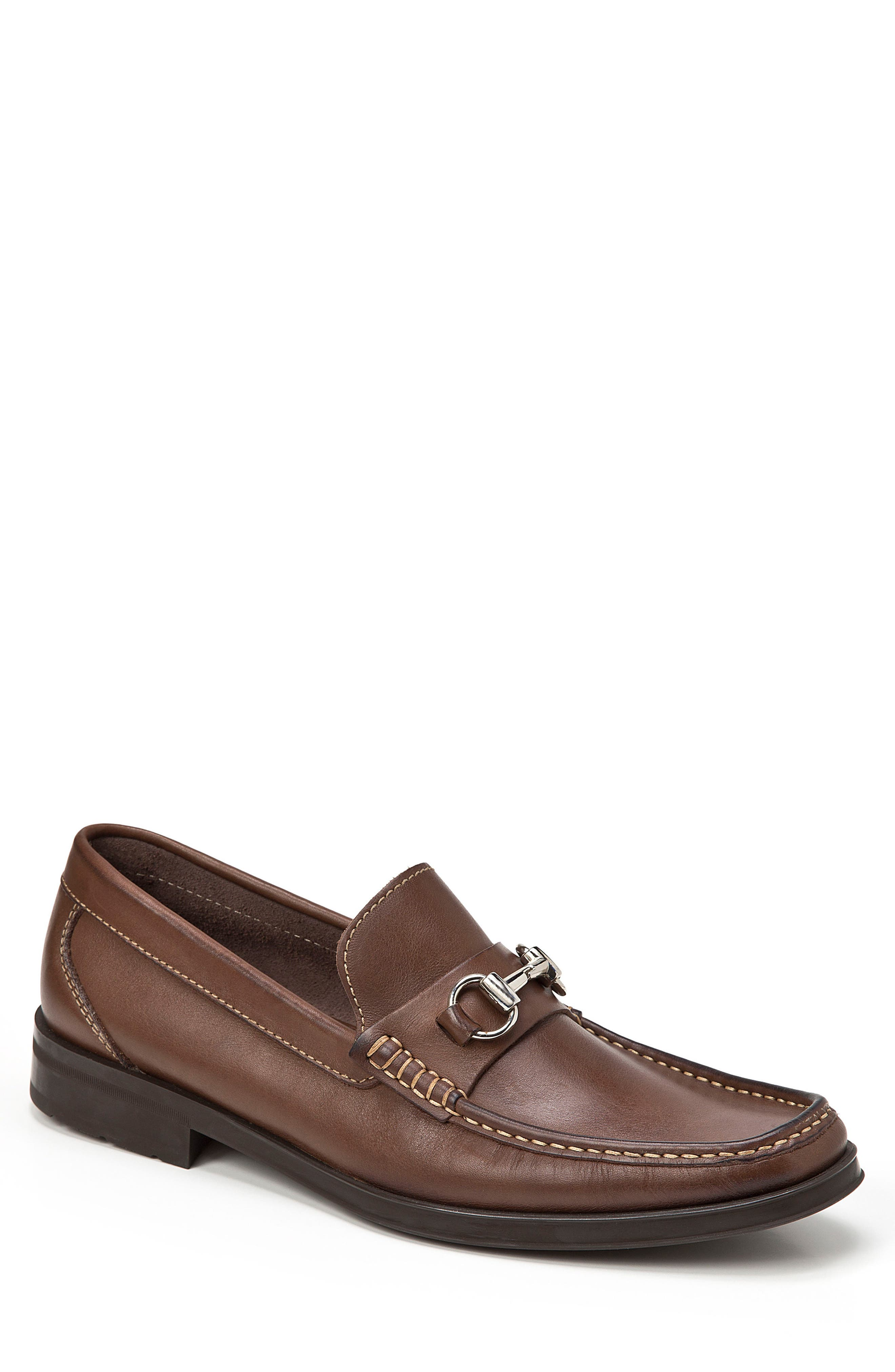 Ernesto Bit Loafer,                         Main,                         color, Brown