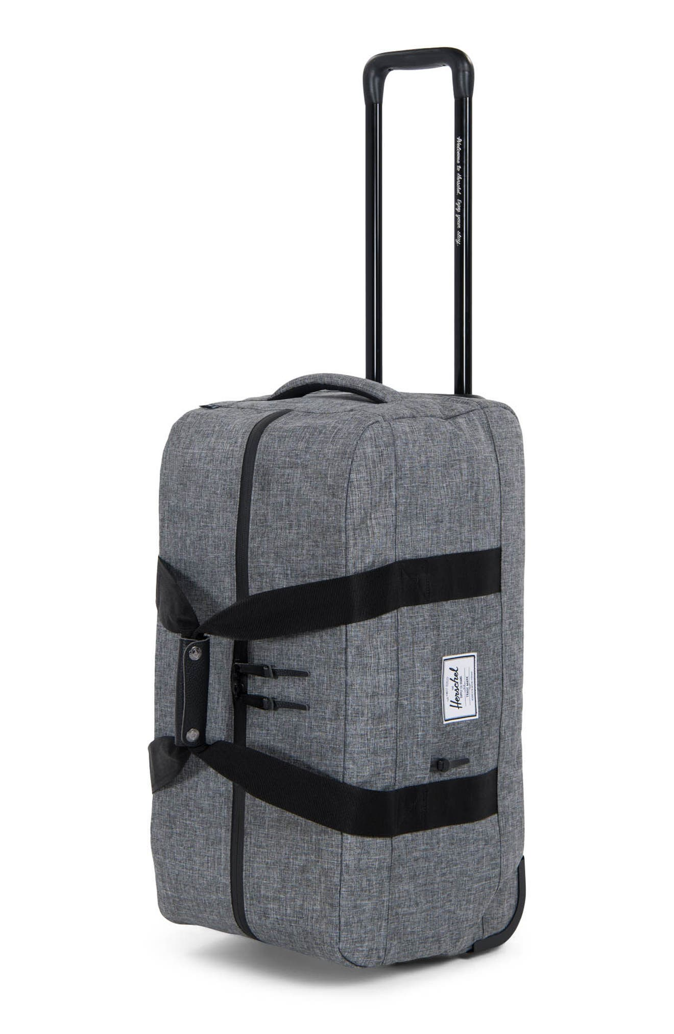 Alternate Image 3  - Herschel Supply Co. Wheelie Outfitter 24-Inch Duffel Bag