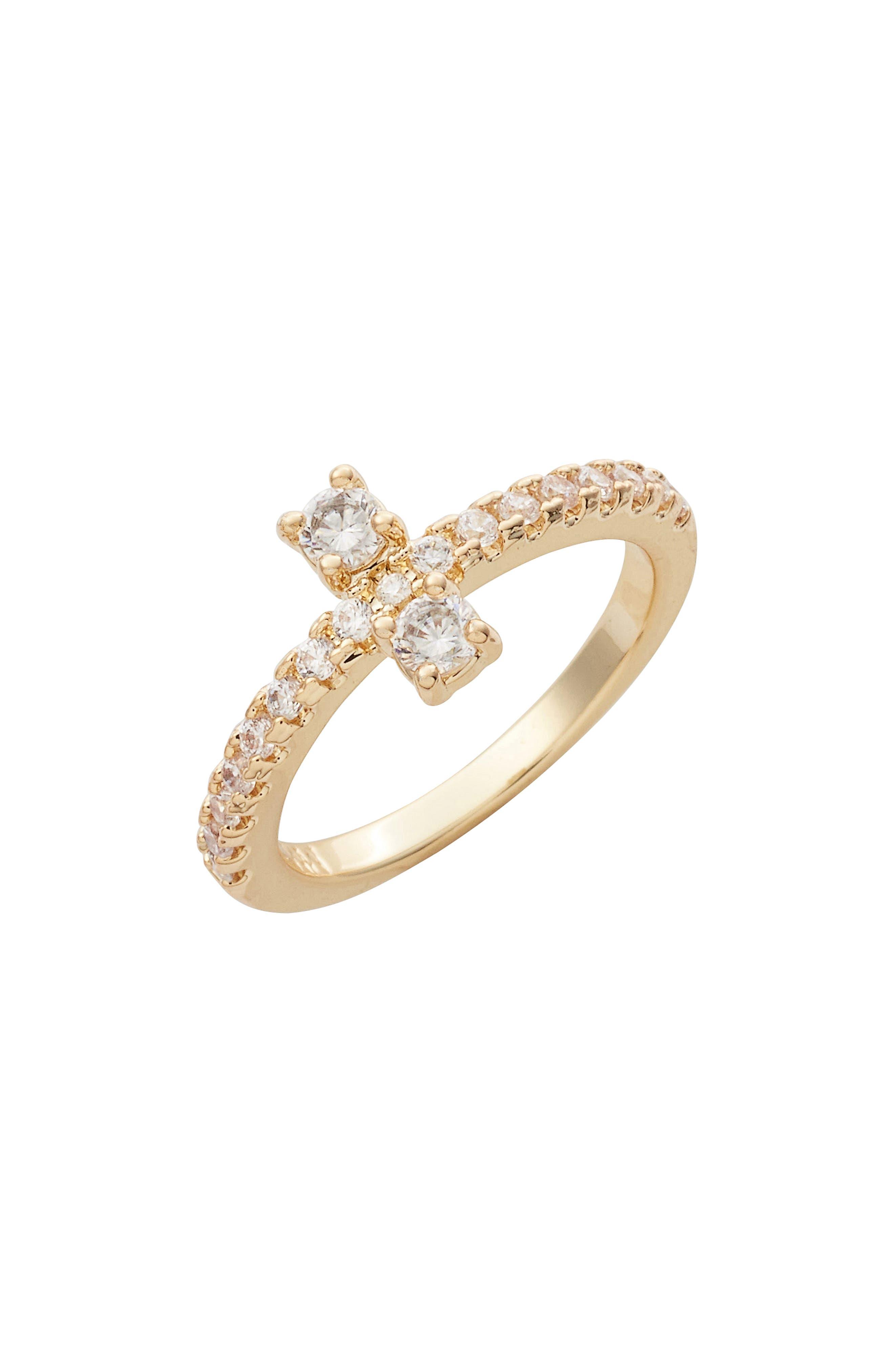 MELINDA MARIA Margaret Cluster Ring
