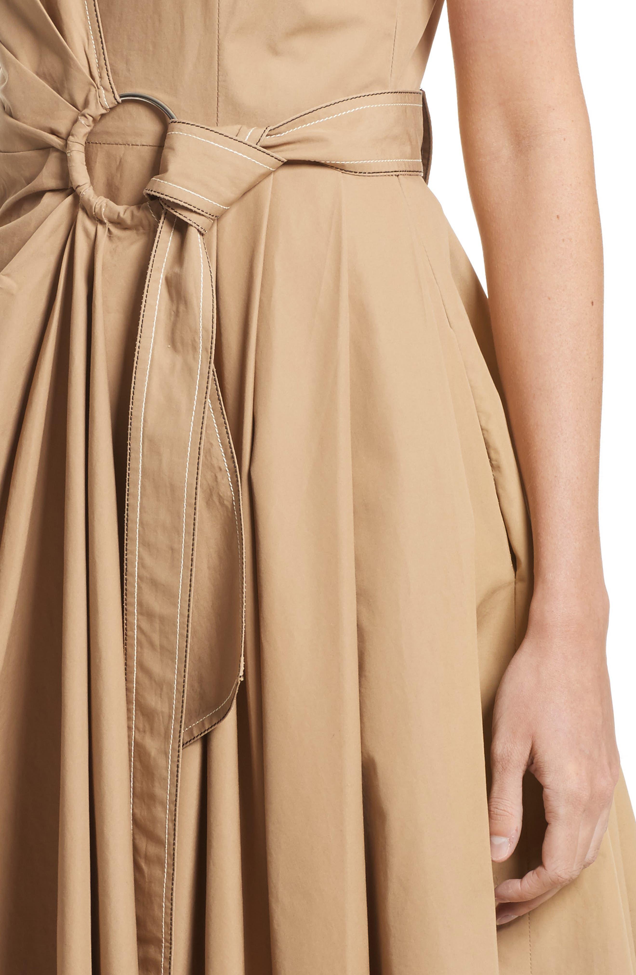 Alternate Image 4  - Derek Lam 10 Crosby Pleated Wrap Dress