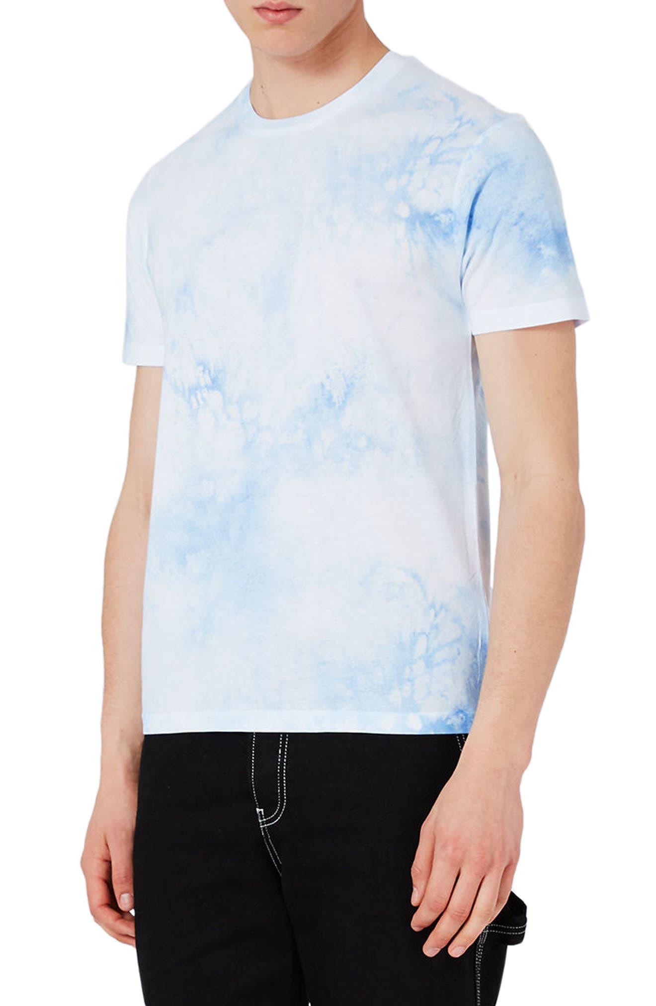 Topman Slim Fit Print T-Shirt