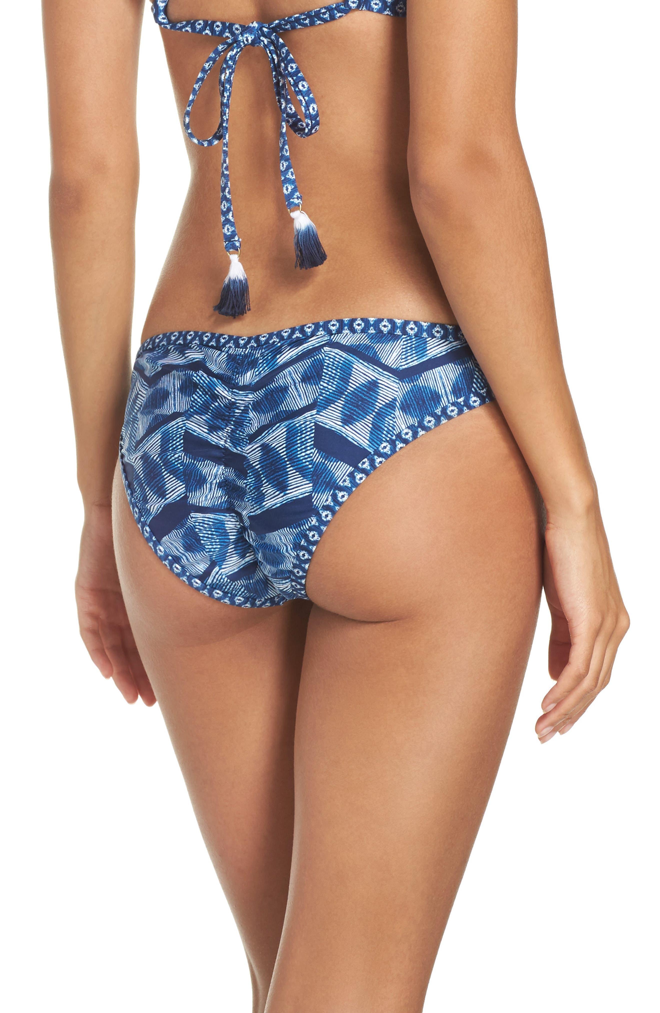 Alternate Image 3  - Lucky Brand Nomad Reversible Bikini Bottoms