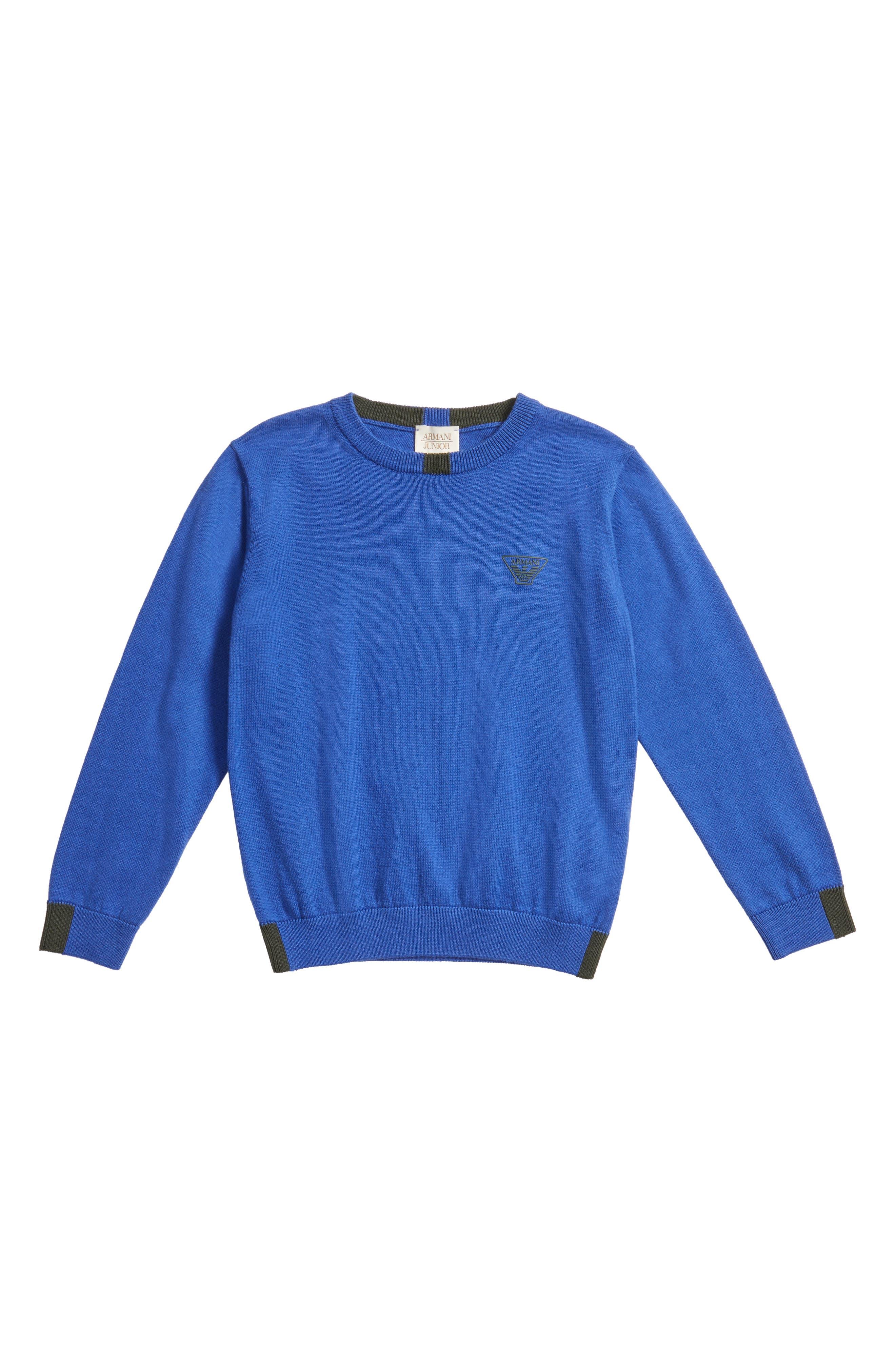 Alternate Image 1 Selected - Armani Junior Sweater (Little Boys & Big Boys)