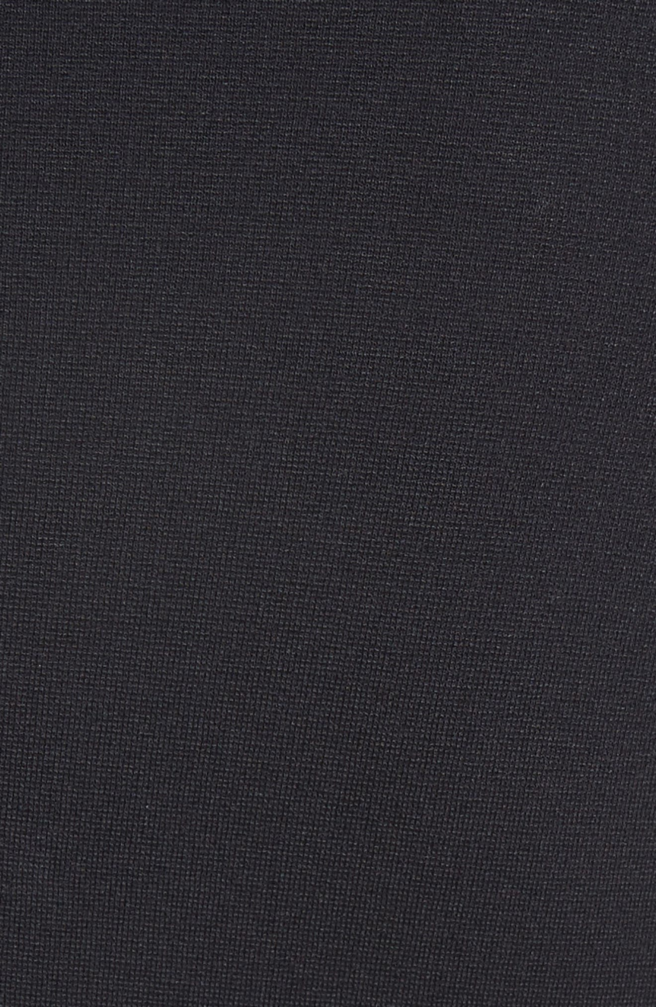Alternate Image 3  - Armani Collezioni Seamed Jersey Fit & Flare Dress