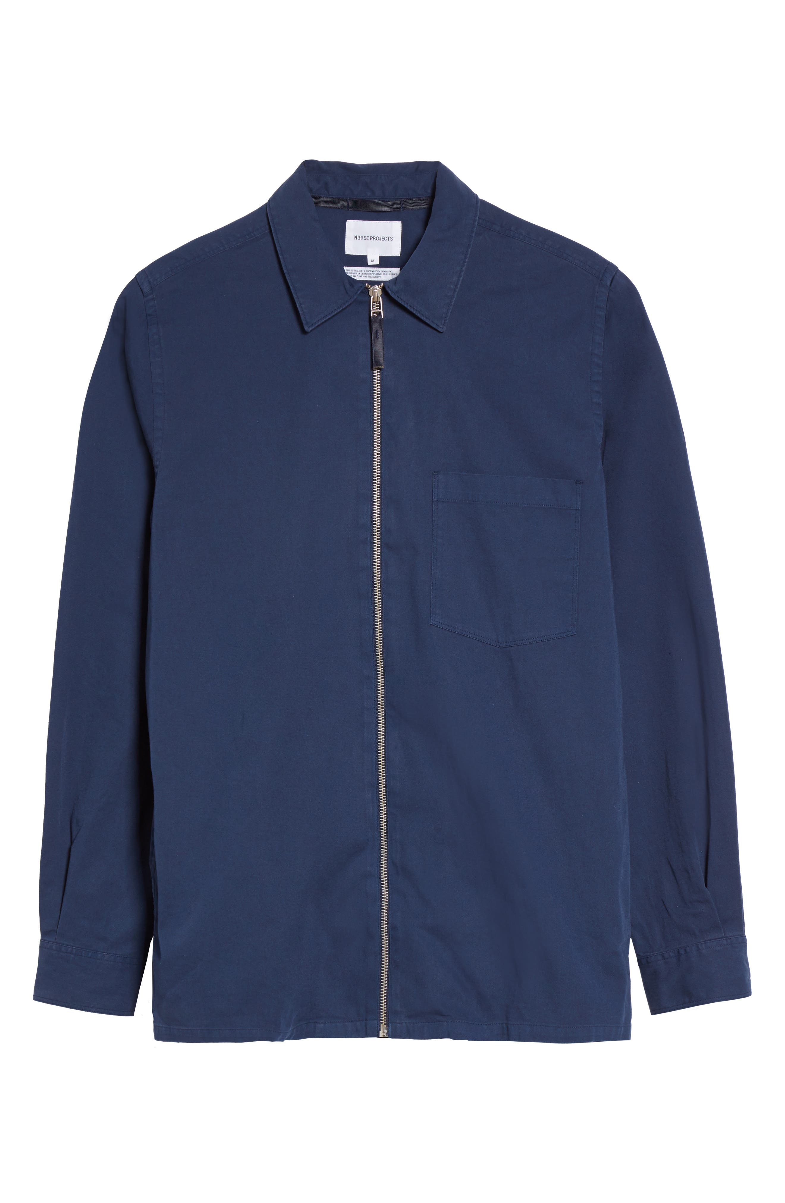 Alternate Image 6  - Norse Projects Jens Garment Dyed Twill Jacket