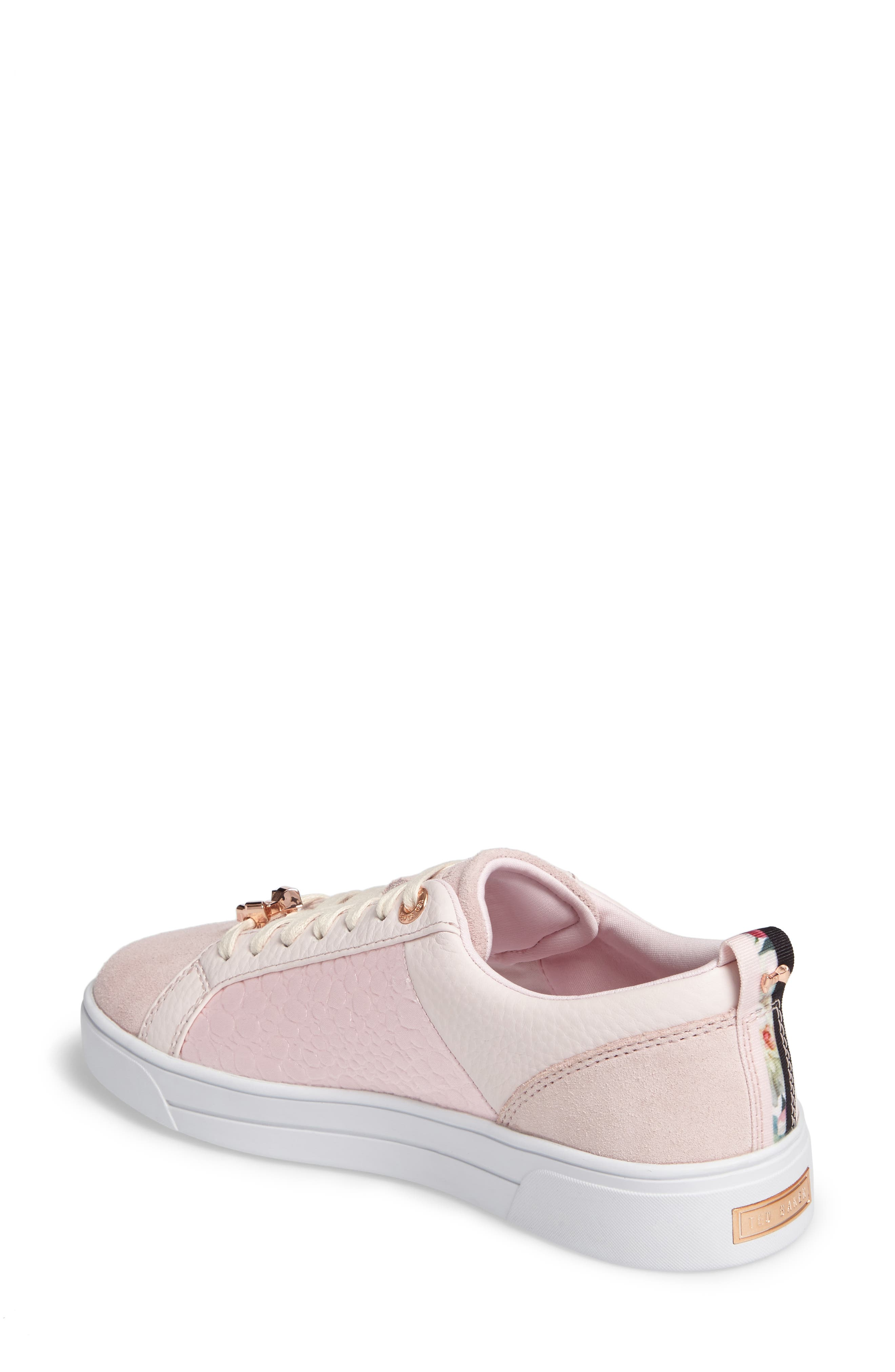Kulei Sneaker,                             Alternate thumbnail 2, color,                             Light Pink Leather