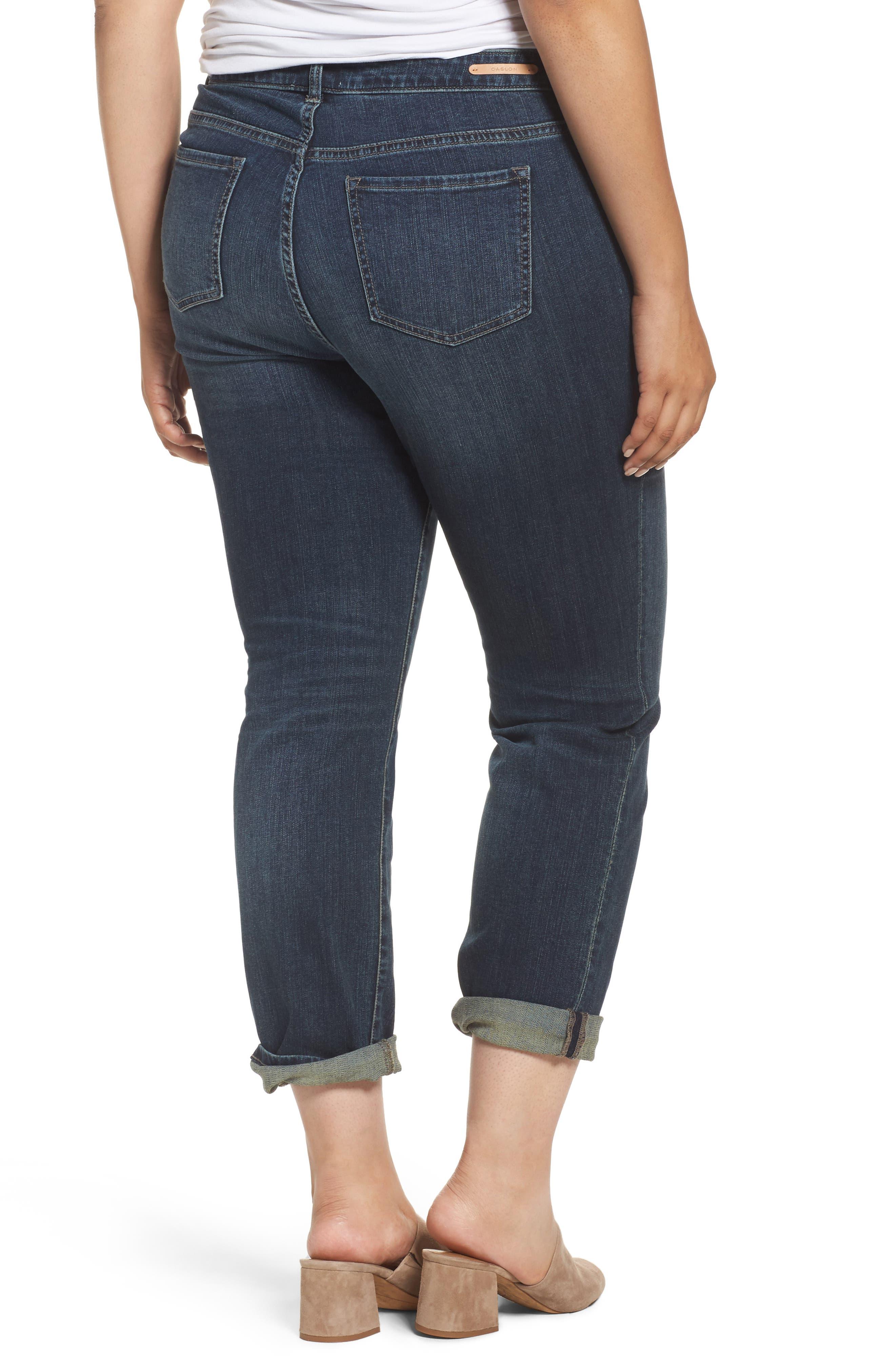 Boyfriend Jeans,                             Alternate thumbnail 2, color,                             Mirage Wash