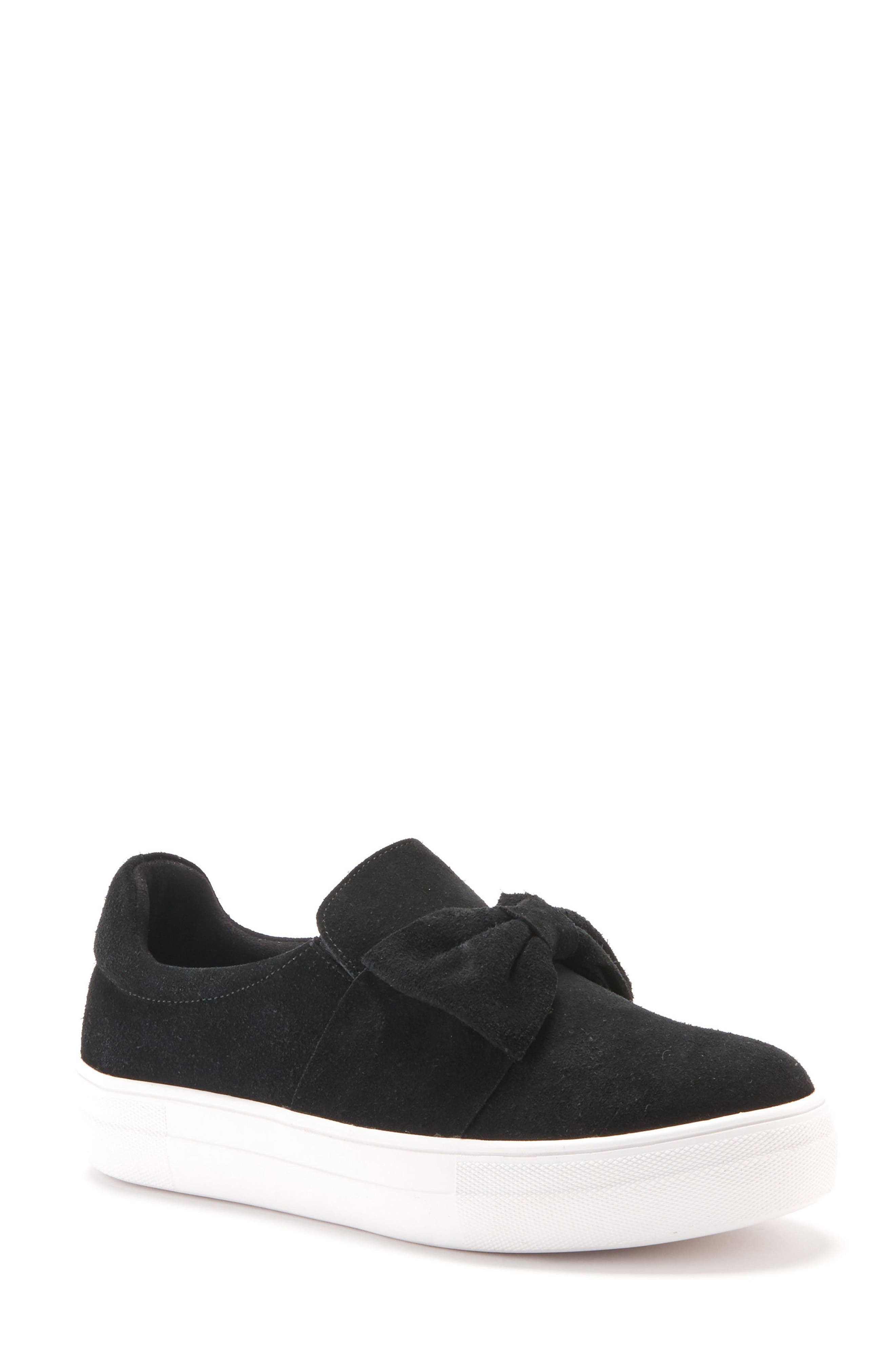 Gigi Sneaker,                             Main thumbnail 1, color,                             Black Suede