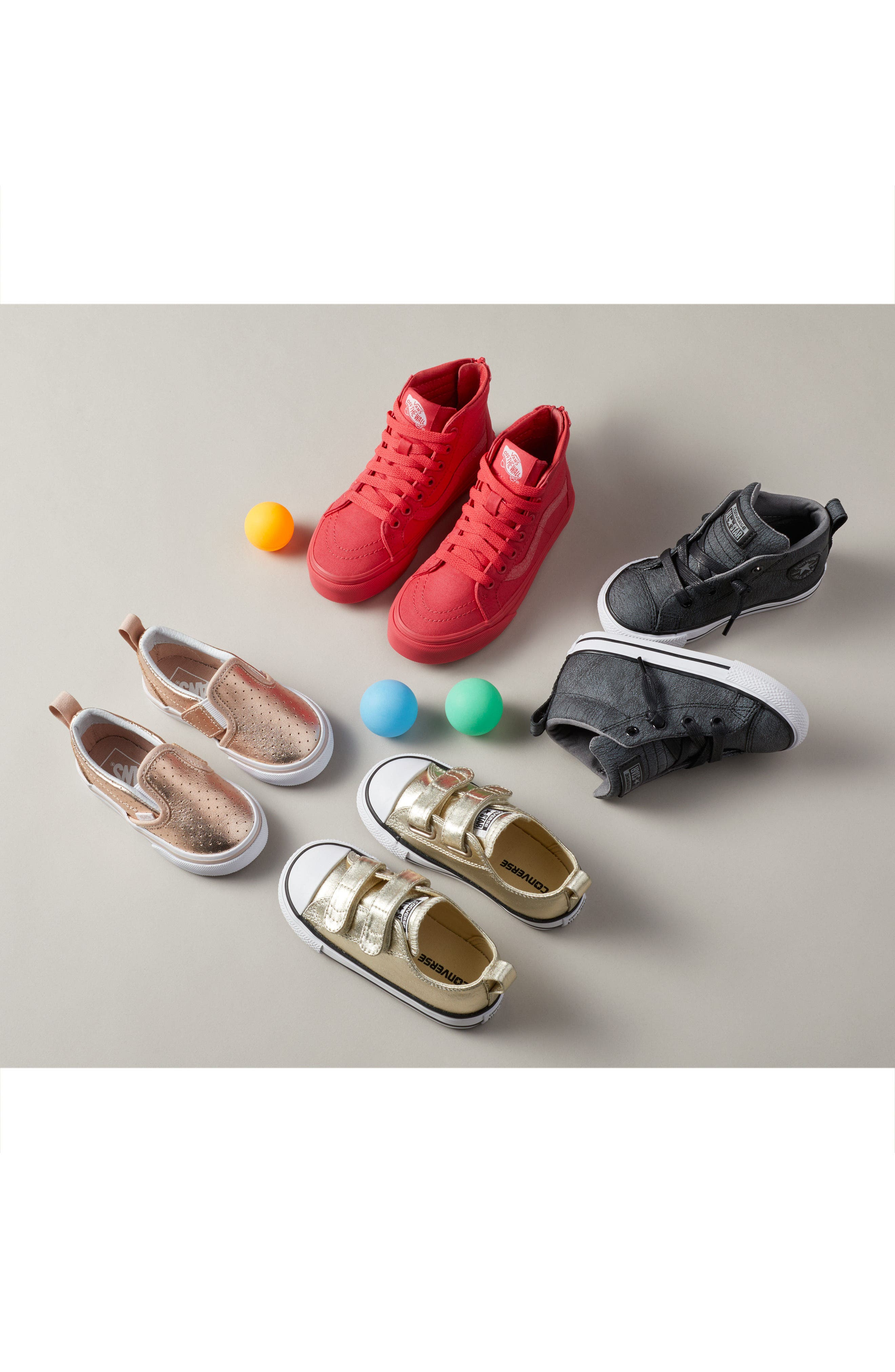 Alternate Image 7  - Converse Chuck Taylor® All Star® 2V Metallic Low-Top Sneaker (Baby, Walker & Toddler)