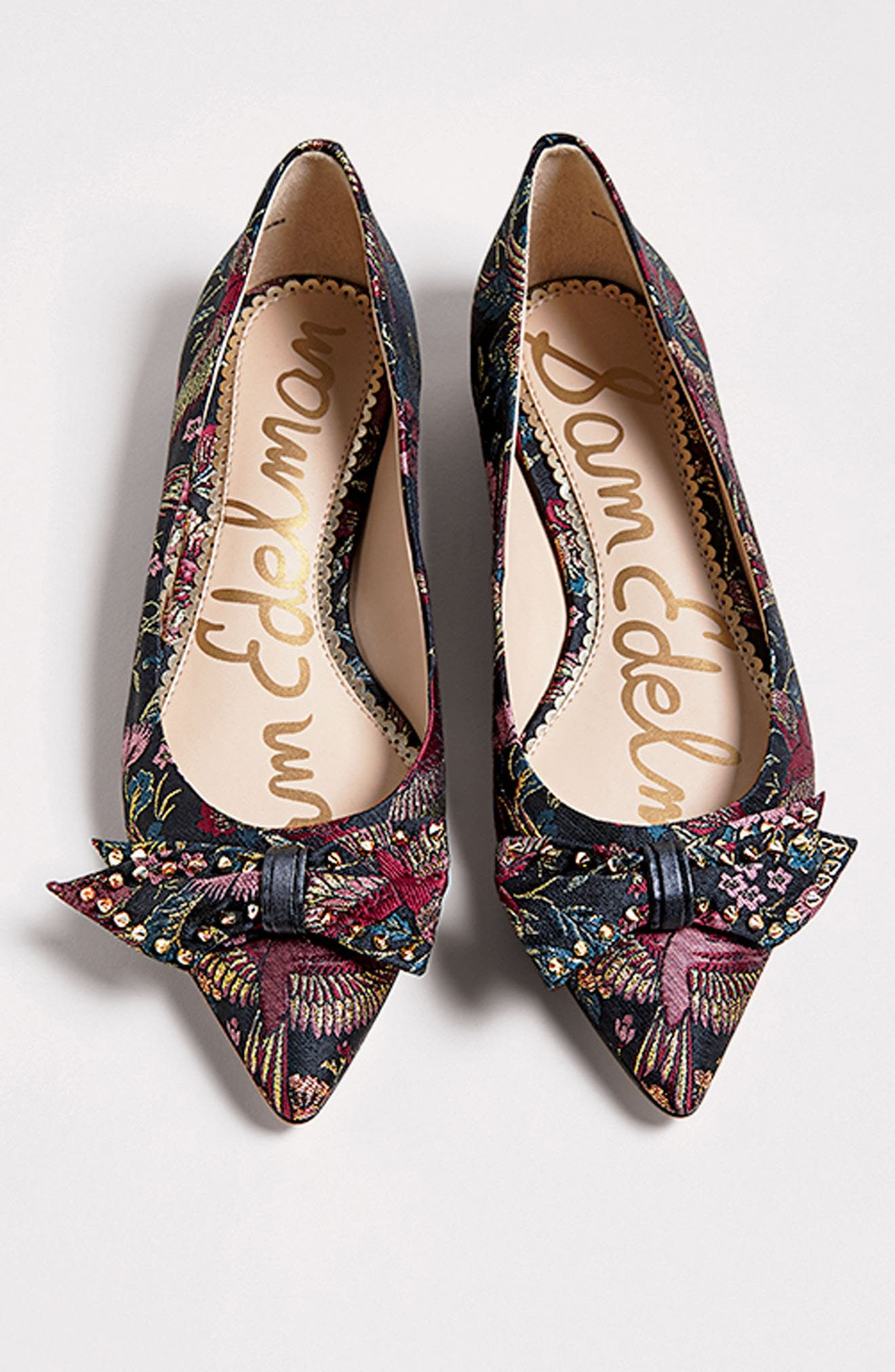 Alternate Image 6  - Sam Edelman Raisa Bow Flat (Women)