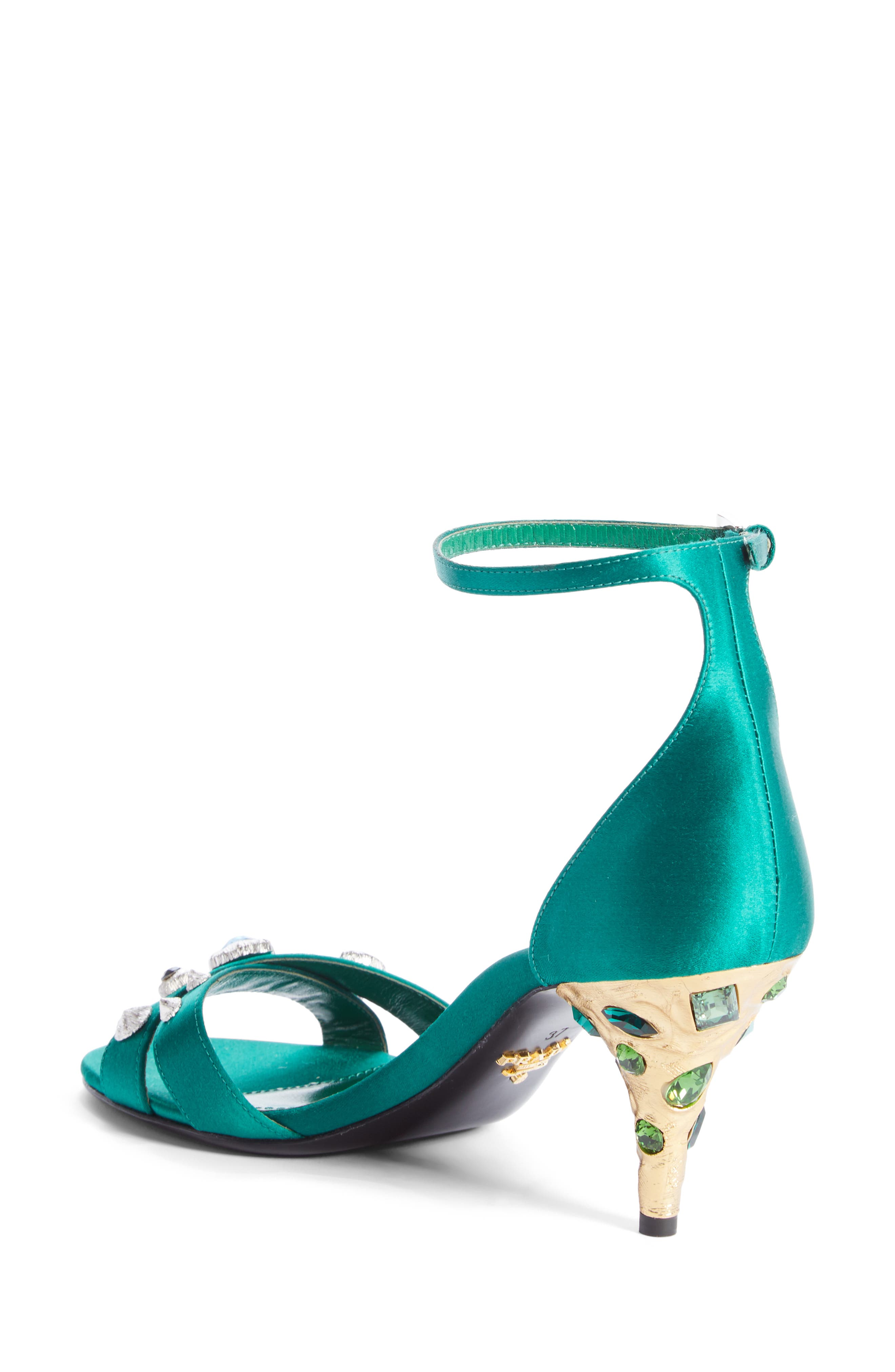 Alternate Image 2  - Prada Jewel Ankle Strap Sandal (Women)